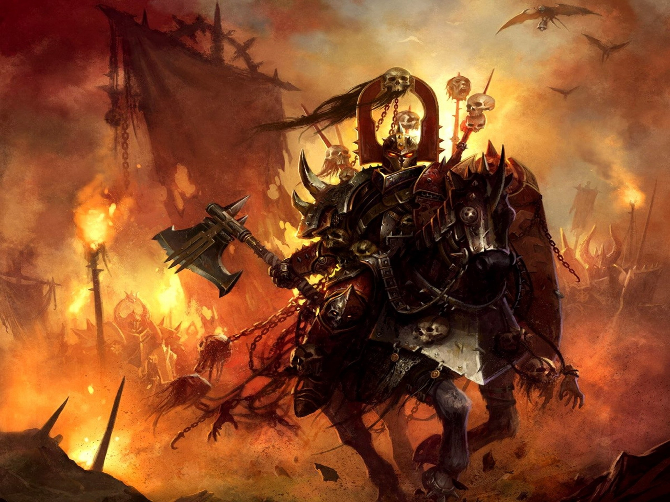 Download Wallpapers, Download knights warhammer .