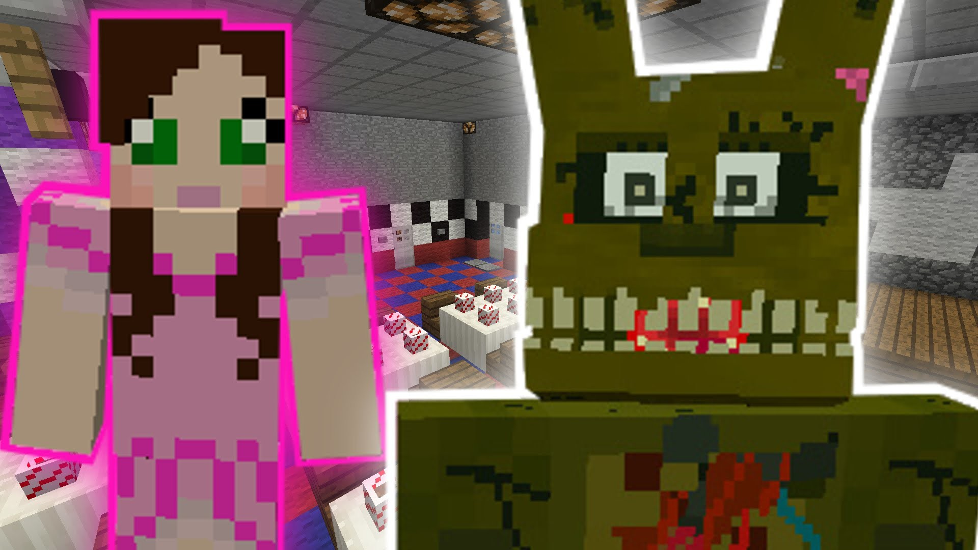 Minecraft: FIVE NIGHTS AT FREDDY'S ESCAPE CHALLENGE – Modded Mini-Game –  YouTube