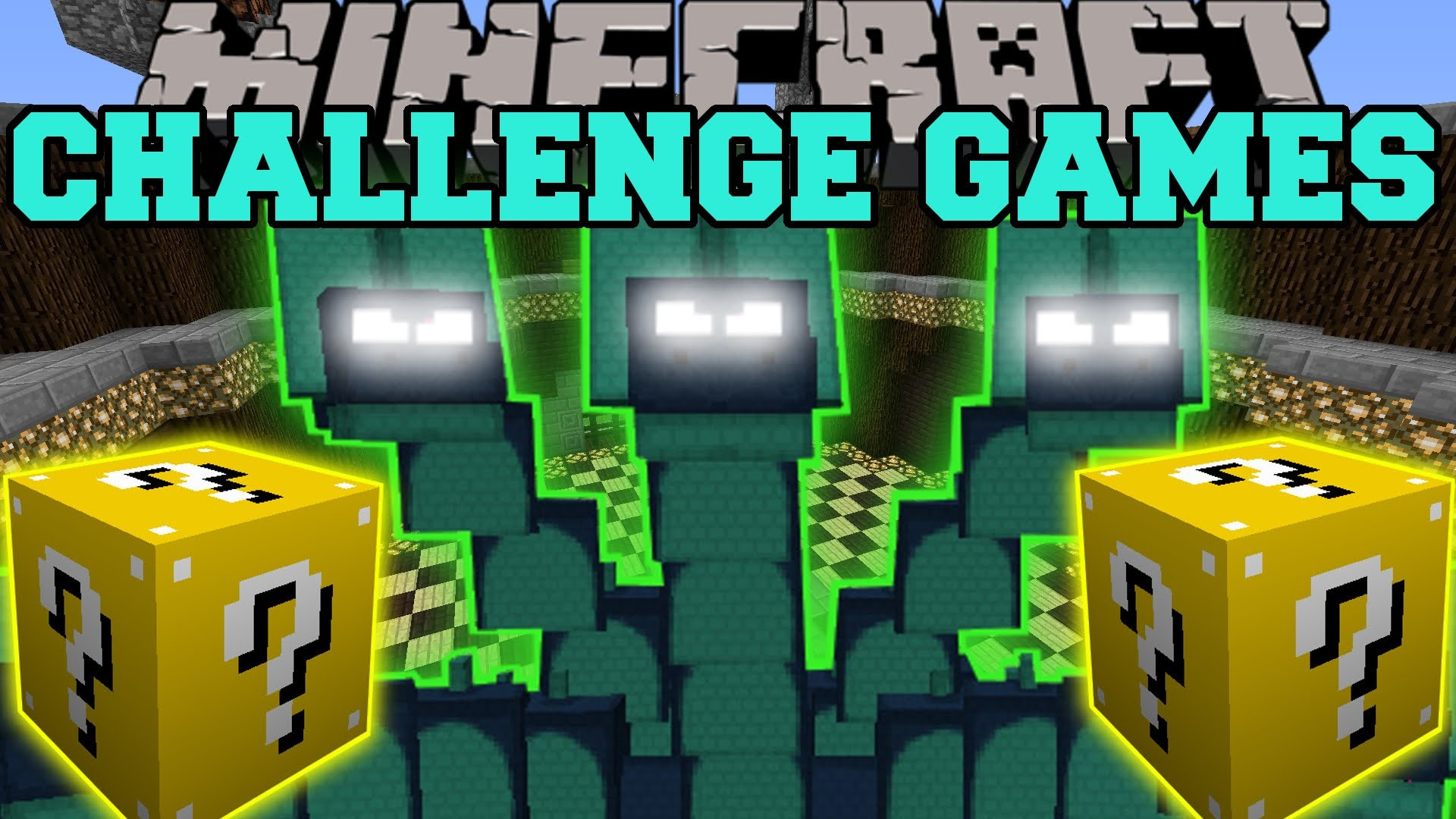 Minecraft: HYDRA CHALLENGE GAMES – Lucky Block Mod – Modded Mini-Game –  YouTube