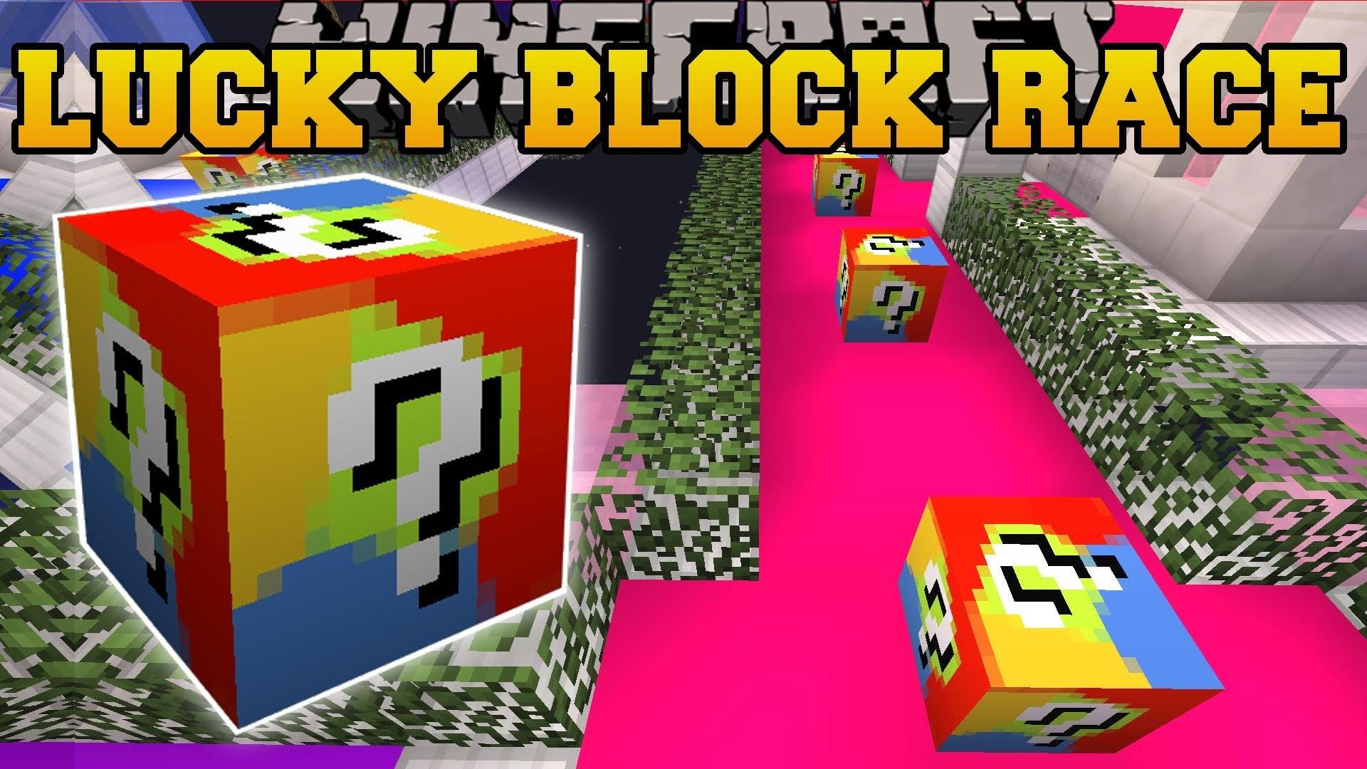 PAT And JEN PopularMMOs | Minecraft FUTURE WORLD LUCKY BLOCK RACE – Lucky  Block Mod – Modded Game