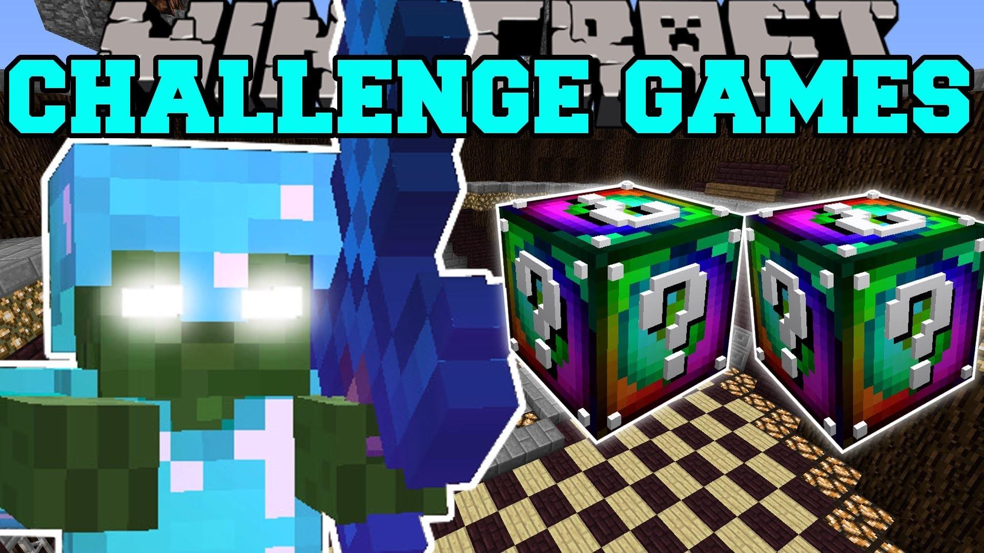 Minecraft BOB CHALLENGE GAMES – Lucky Block M…PAT And JEN PopularMMOs