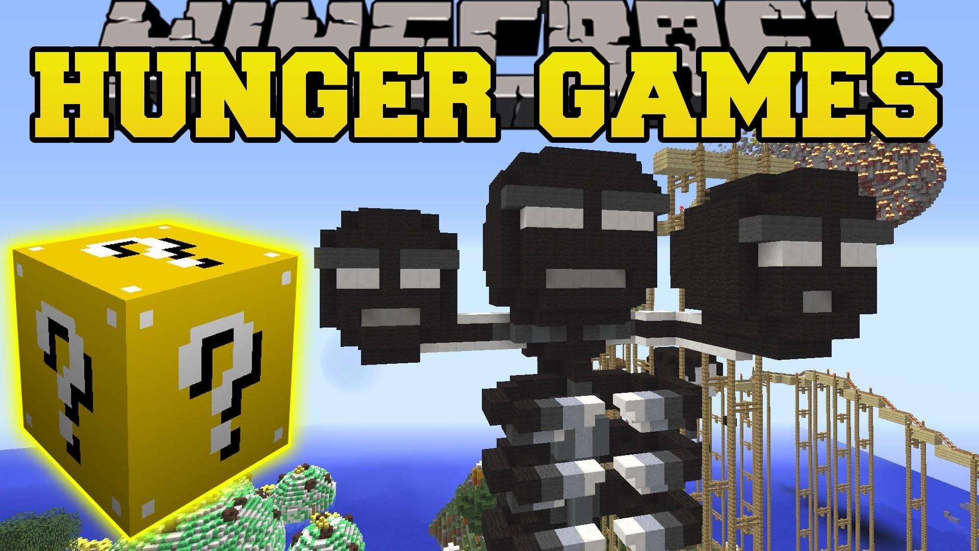 Pat And Jen Minecraft: MADNESS MEDLEY HUNGER GAMES – Lucky Block Mod – M.