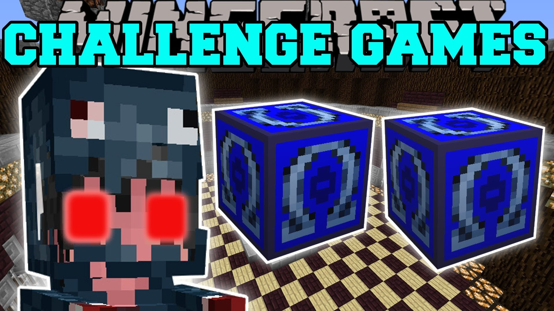 Pat And Jen – Minecraft: MUTANT SQUID GIRL CHALLENGE GAMES – Lucky Block  Mod – Modded Mini-Game