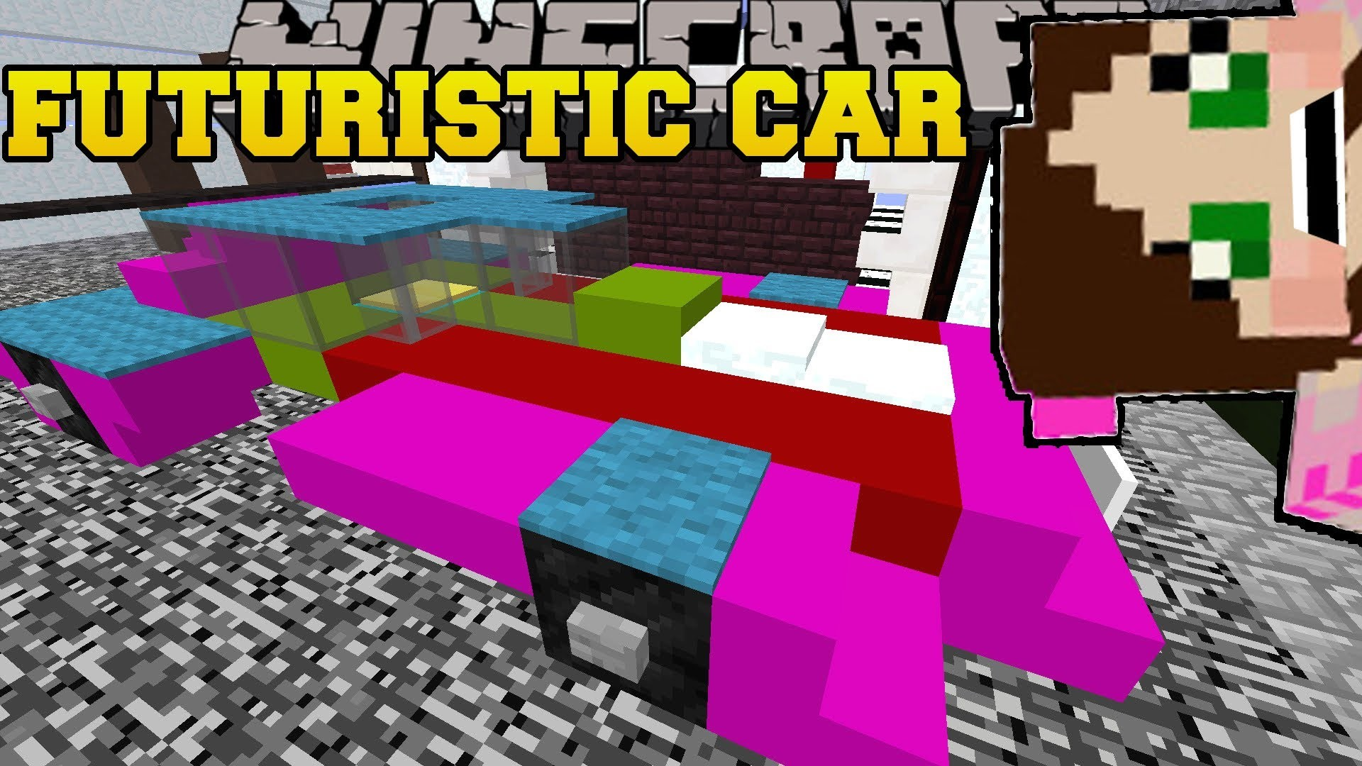 PAT And JEN PopularMMOs | Minecraft FUTURE CAR IN THE CITY! FIVE NIGHTS AT  FREDDY'S – Custom Map