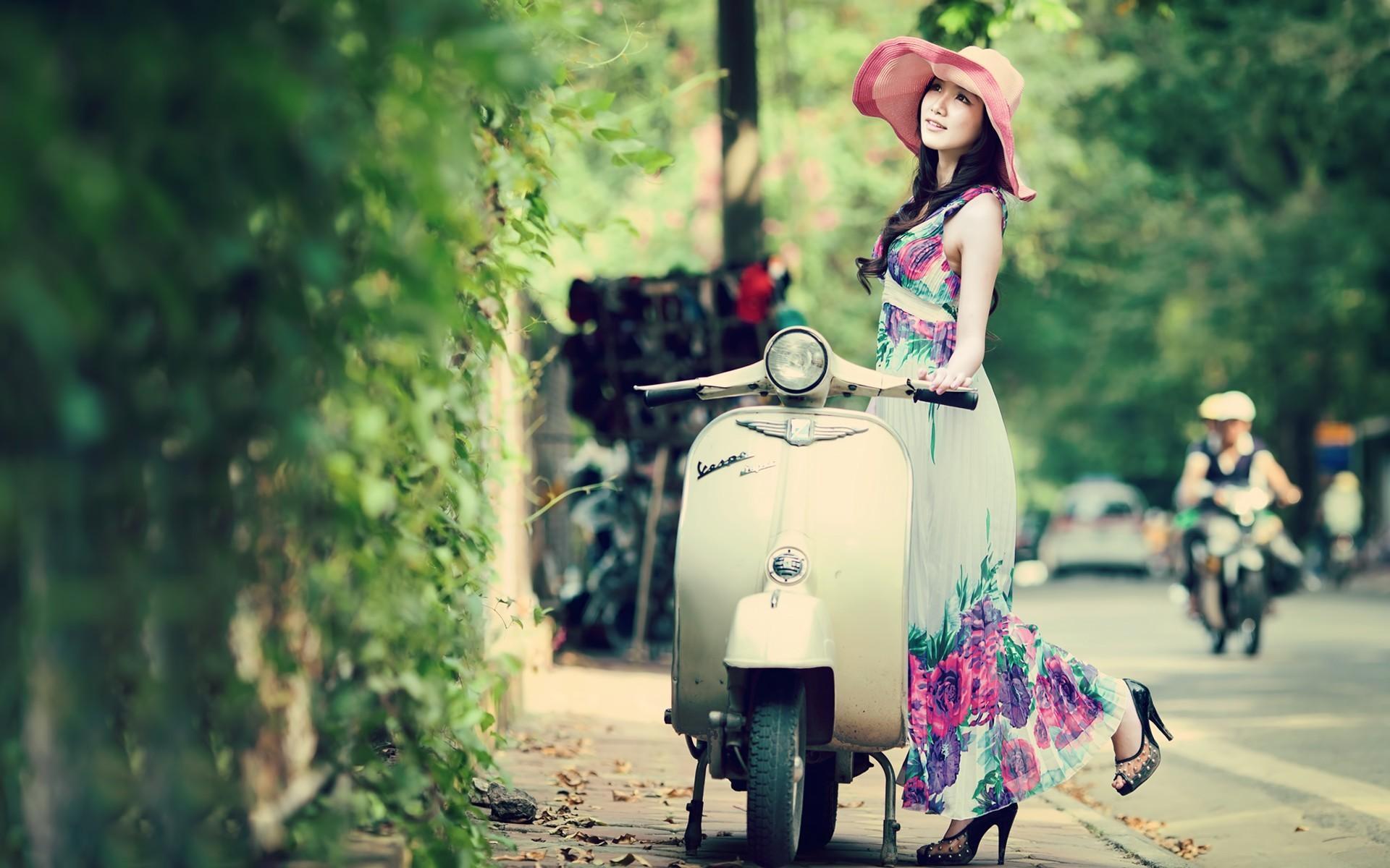 Beautiful Asian Model Spring Colors wallpapers | Beautiful Asian Model .