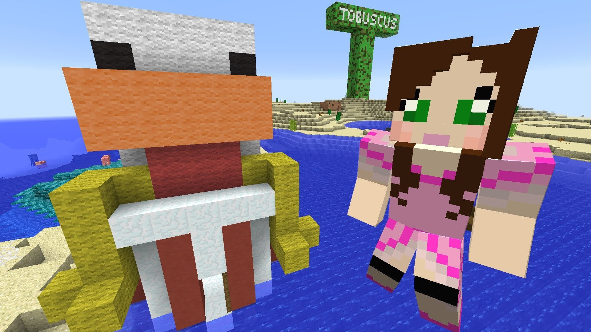 how to get PAT And JEN PopularMMOs | Minecraft LUCKY WEAPONS CHALLENGE EPS9  19 new