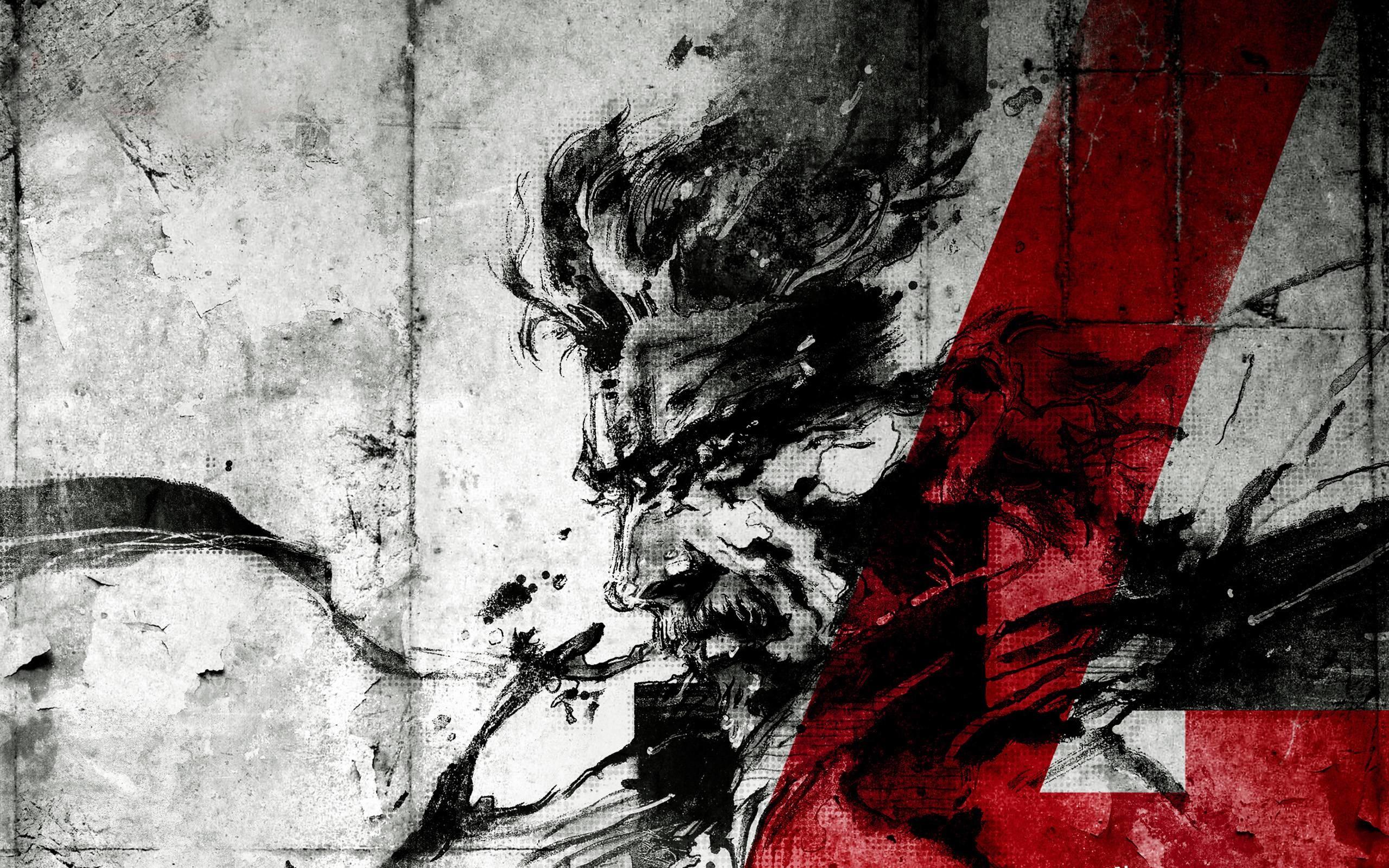 Metal Gear Solid 4 Wallpaper   loopele.