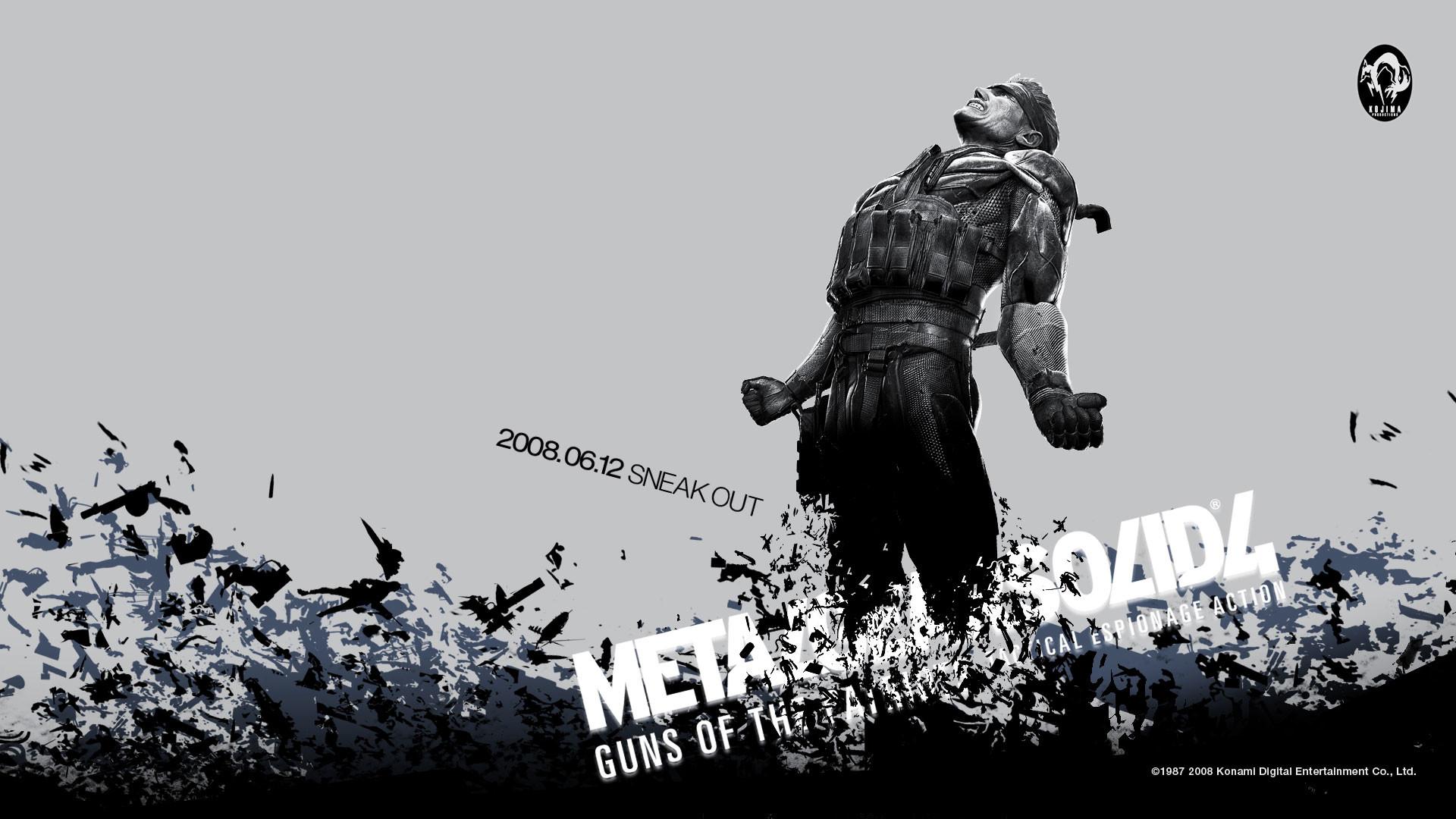Metal Gear Solid Desktop Wallpapers (78 Wallpapers)