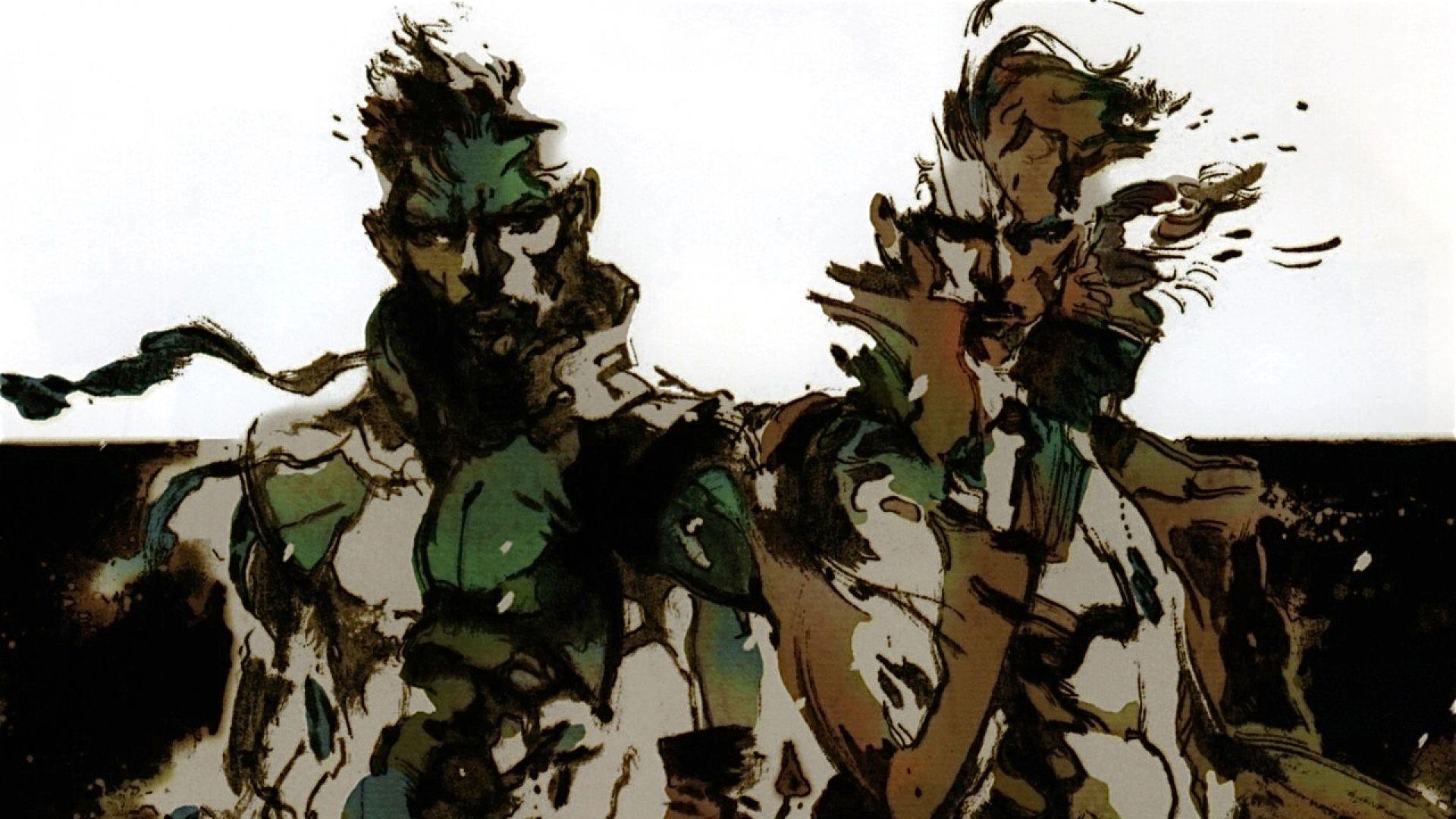 Metal Gear Solid HD Wallpaper