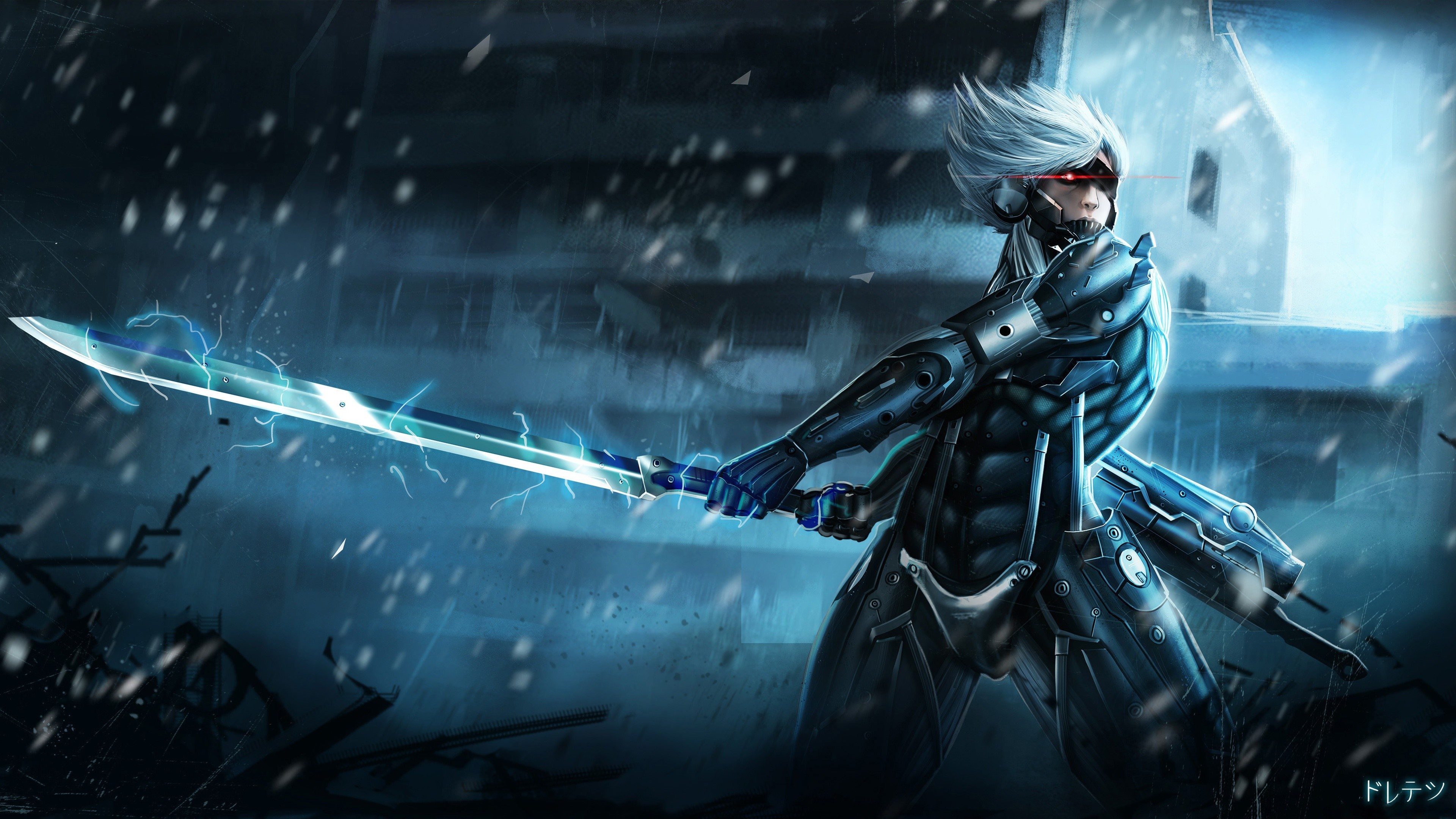 52 Metal Gear Rising: Revengeance HD Wallpapers   Backgrounds