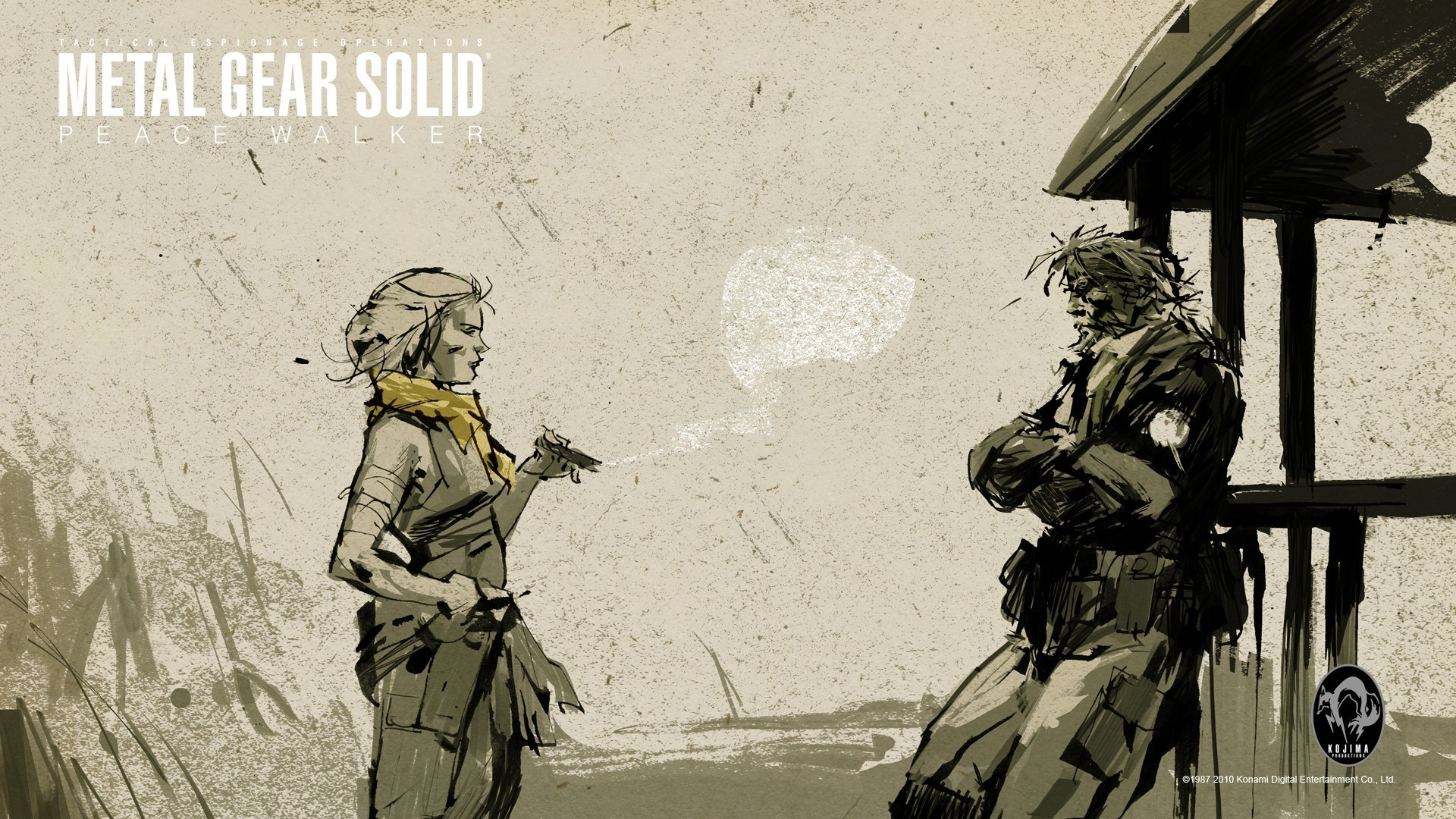 Metal Gear Solid V The Phantom Pain HD Desktop Wallpapers