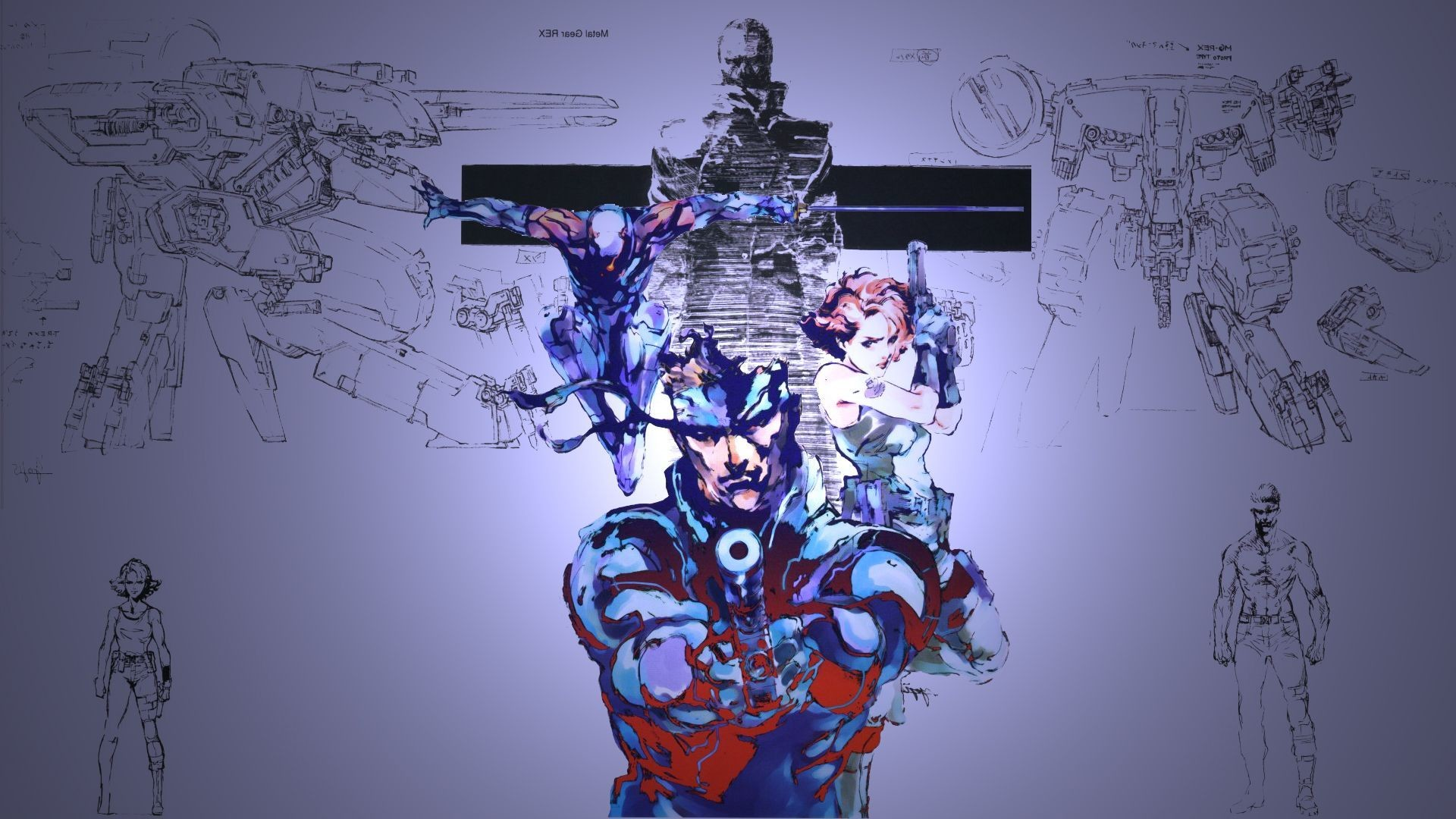 Metal Gear Solid HD Wallpaper 1920×1080
