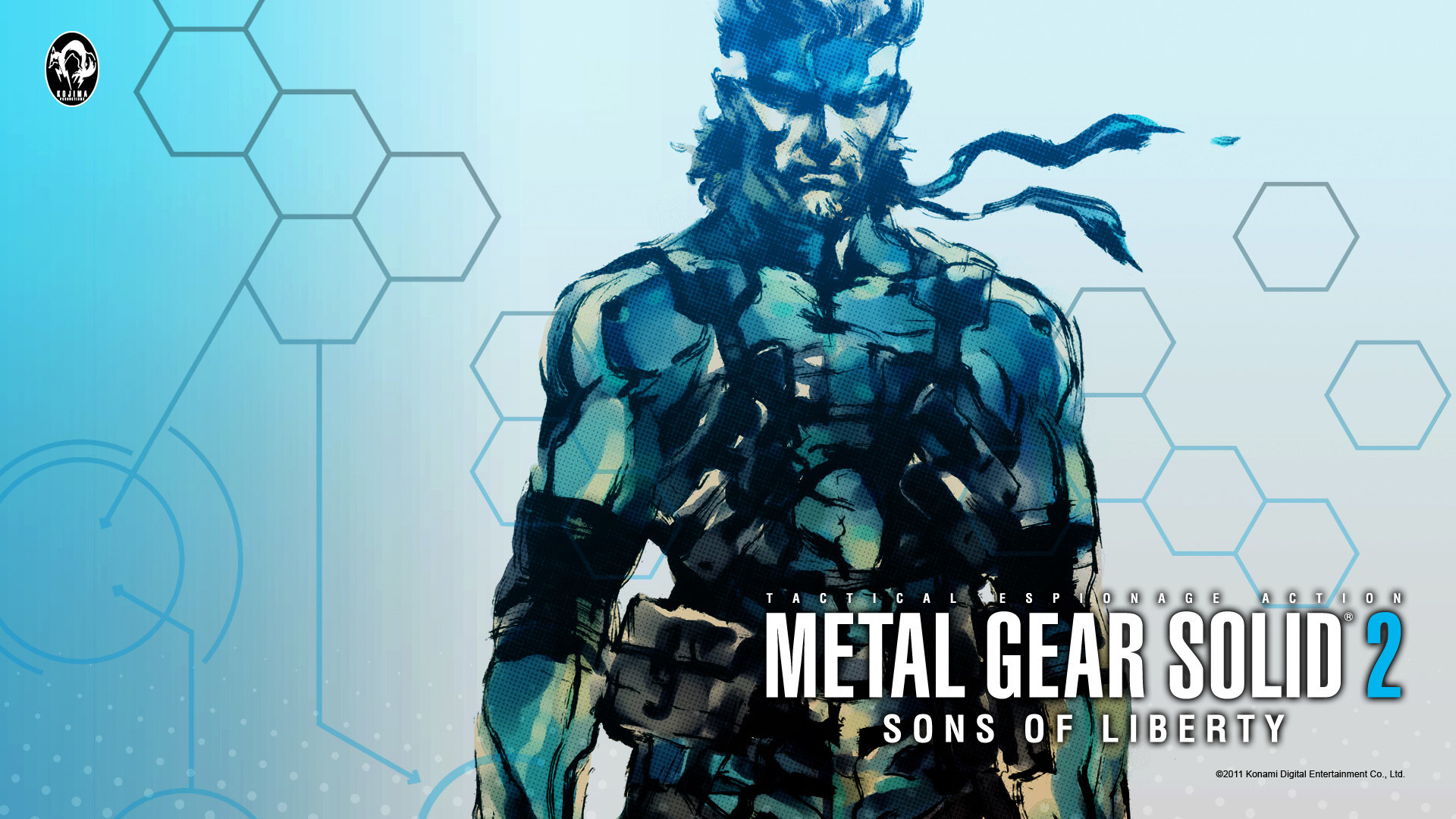 Free Metal Gear Solid 2 Wallpaper in 1920×1080