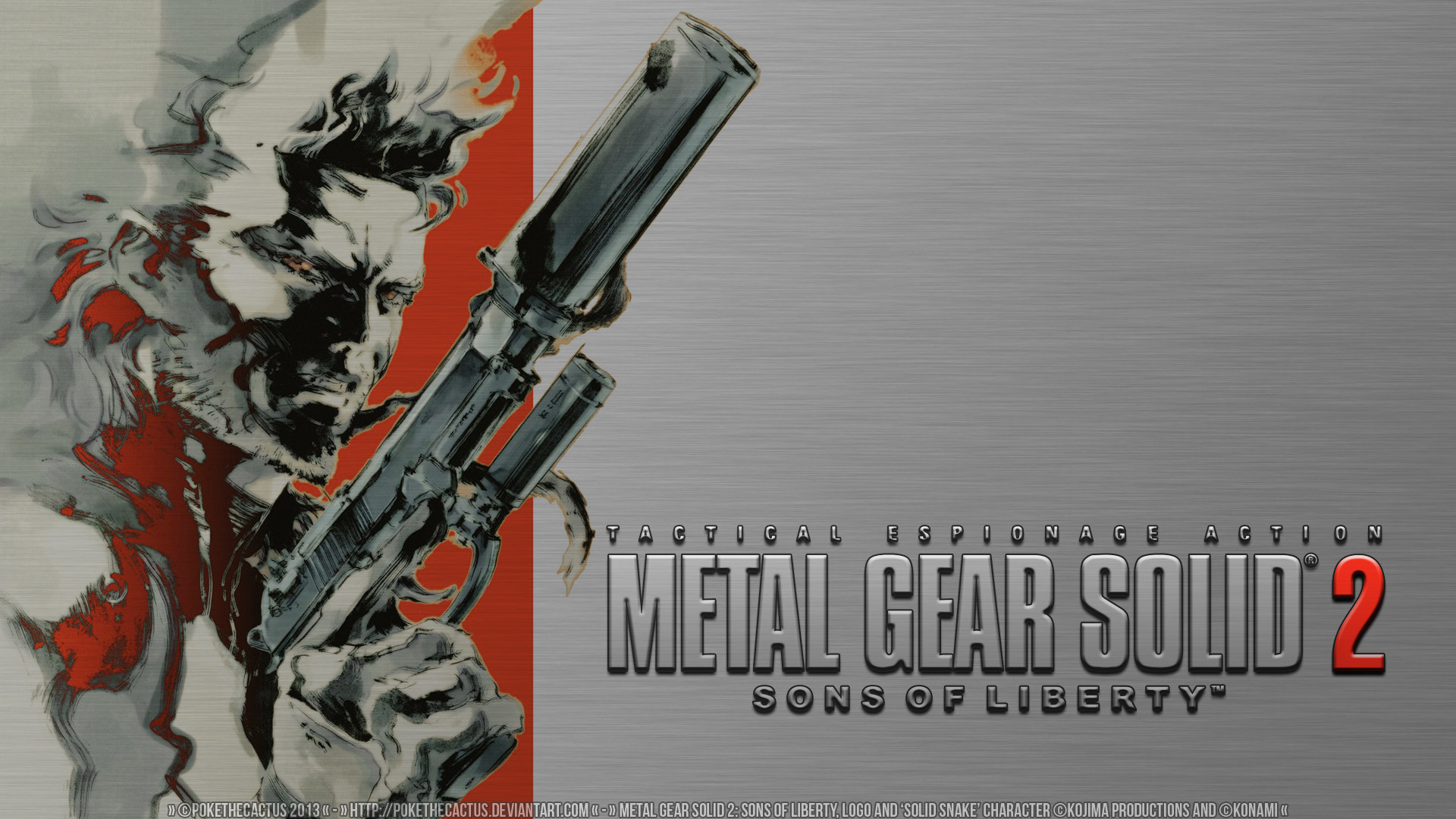 … Classic – Metal Gear Solid 2 HD Wallpaper by PokeTheCactus