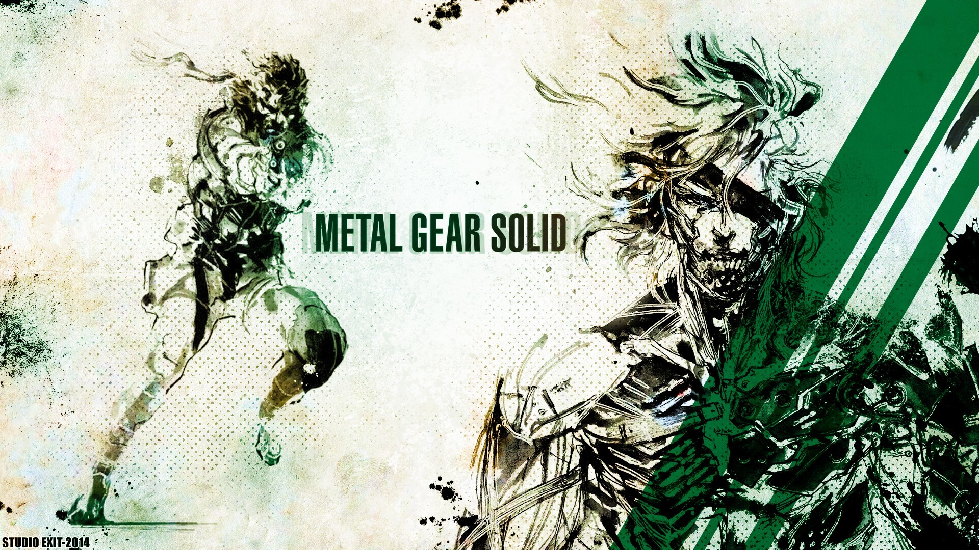 Metal Gear Solid, Raiden, Solid Snake Wallpapers HD / Desktop and Mobile  Backgrounds