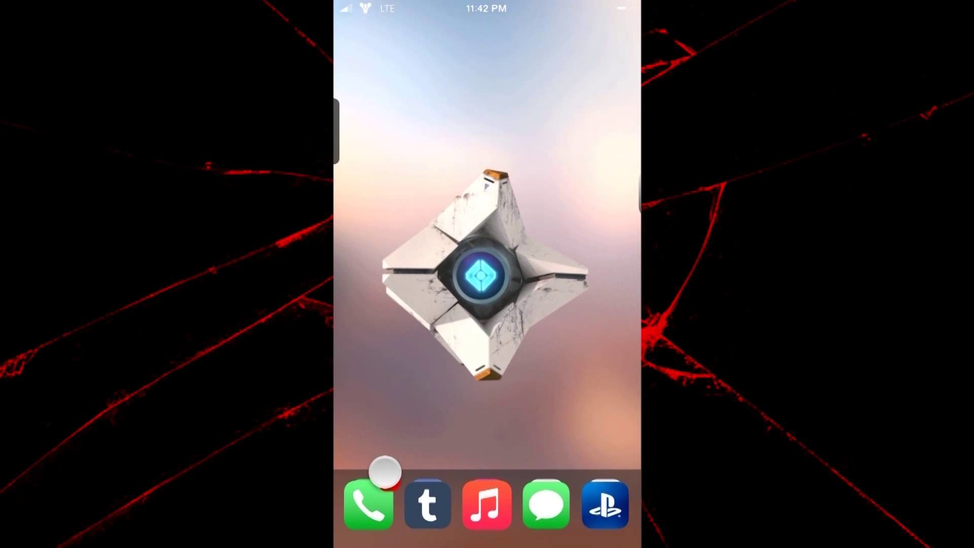 Turn your iPhone into a Ghost from Destiny!
