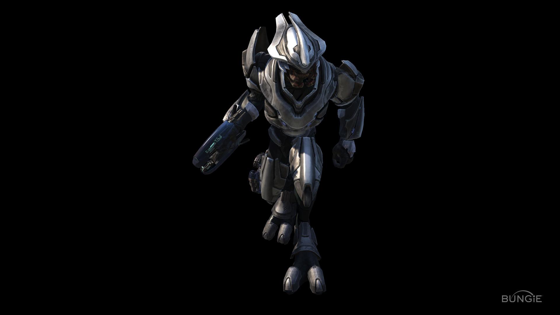 Halo Grey Elite Wallpaper Wallpaper