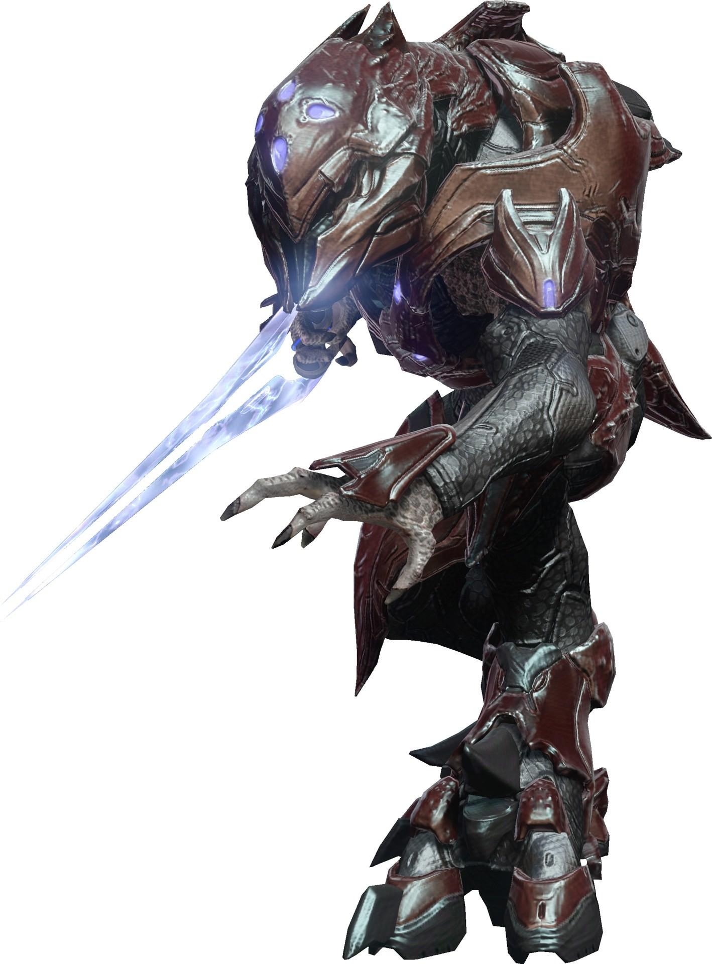 halo 4 elite zelot w/ energy sword looks awesome