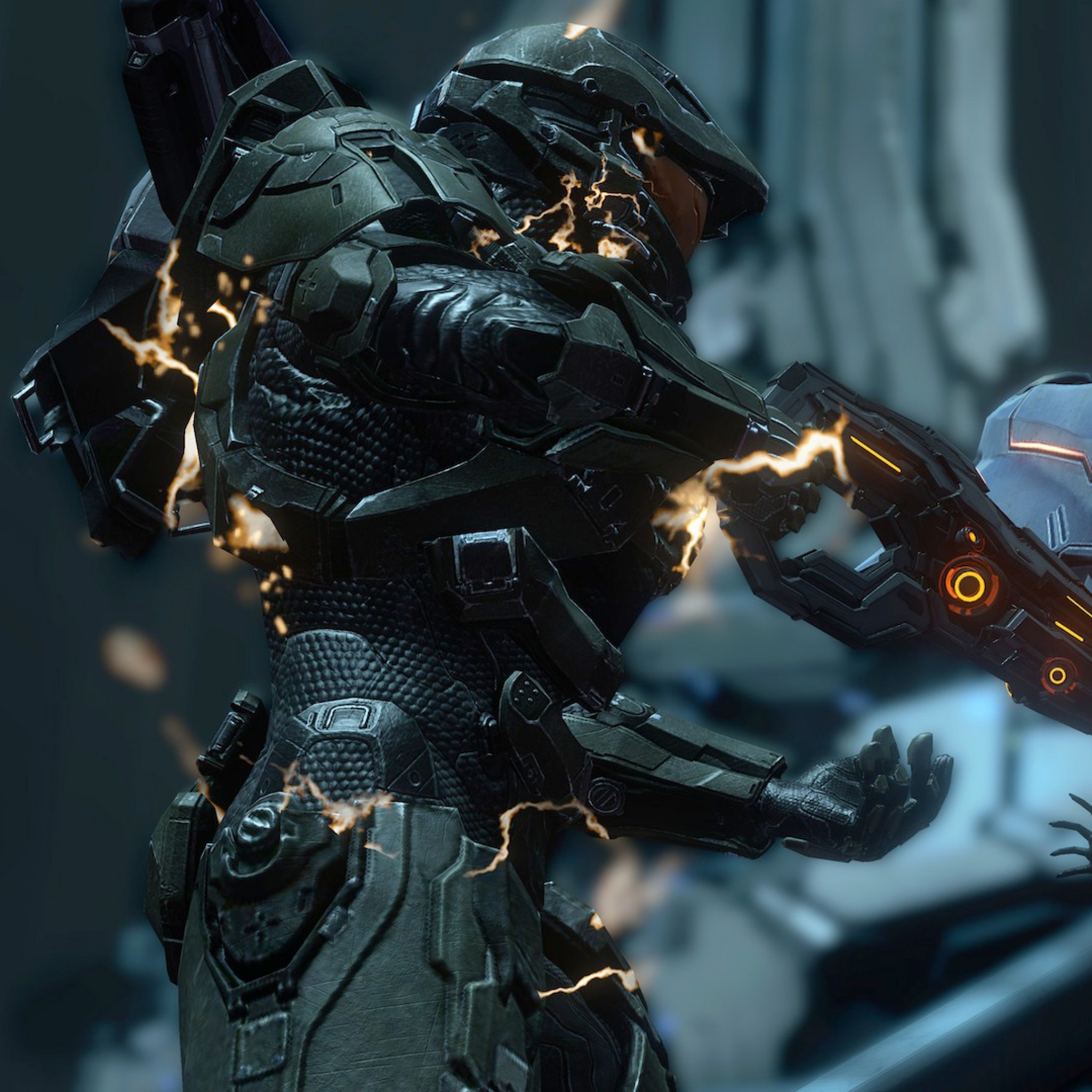 Preview wallpaper halo, 2014, 343 industries, microsoft game studios, xbox  one 2048×2048