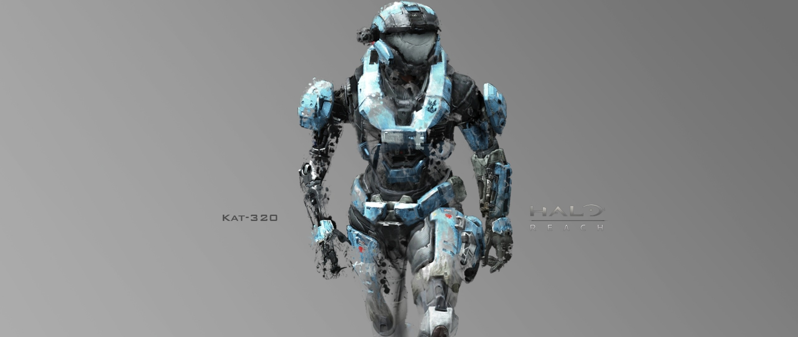 Preview wallpaper halo, soldier, armor, kat-320 2560×1080