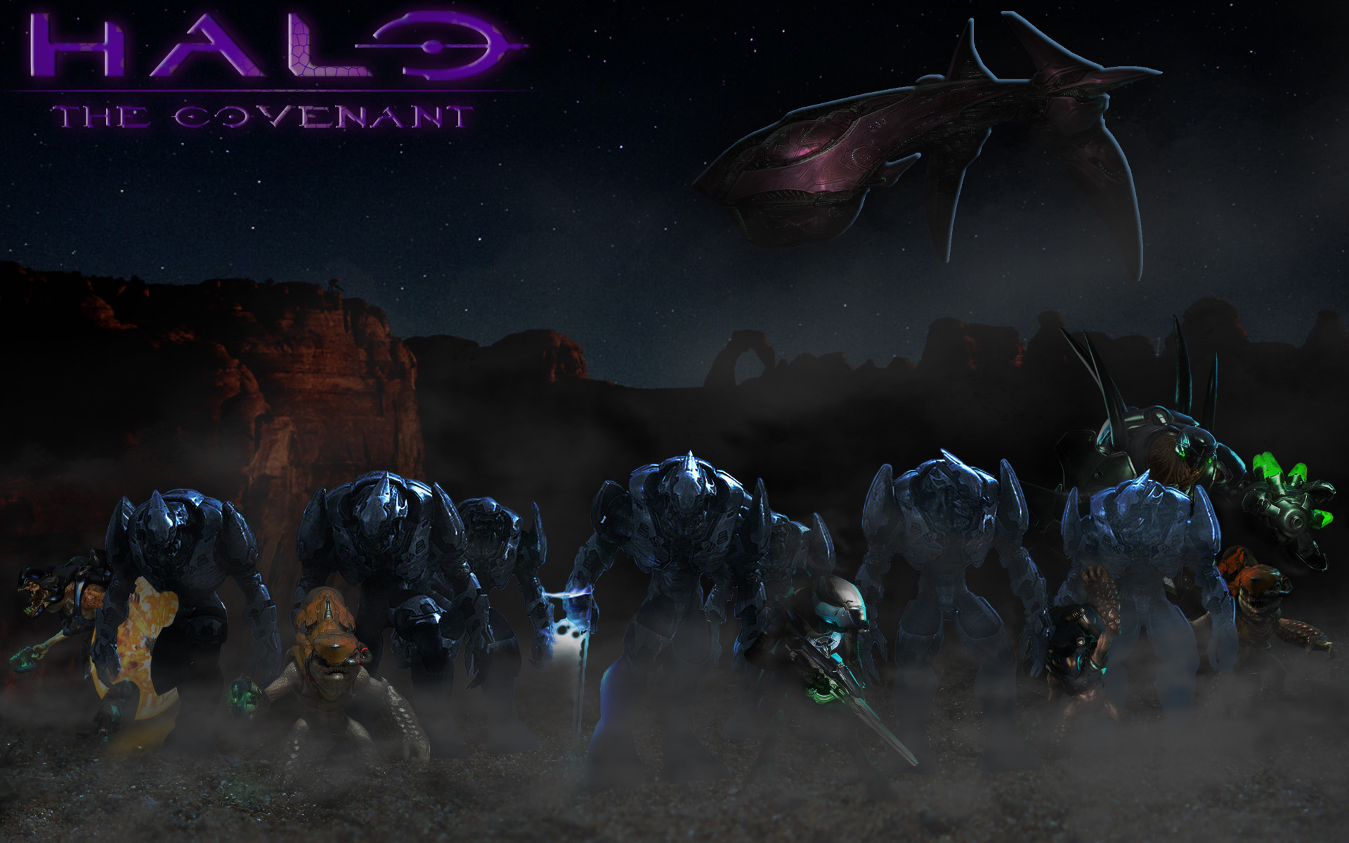 … Halo The Covenant (wallpaper) by Nick004