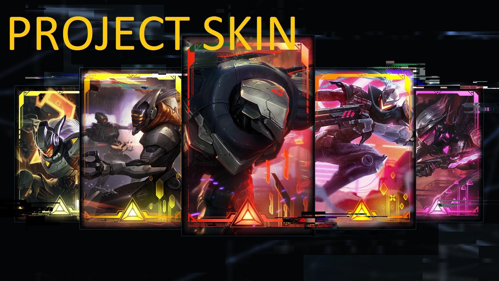 All Project Skins   Zed Yi Leona Fiora Lucian Yasuo   League of Legend Skin  – YouTube
