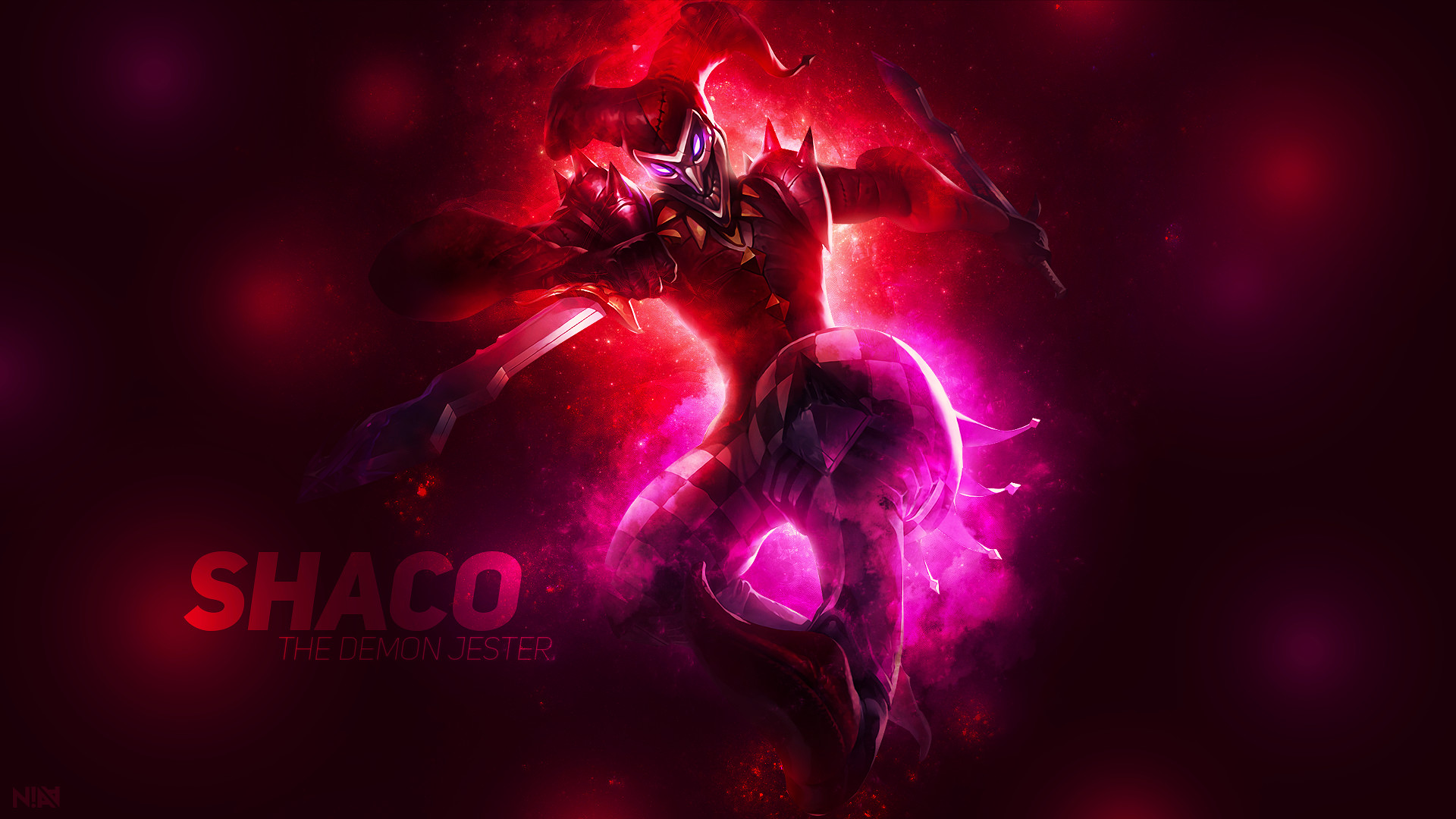 … Shaco The Demon Jester – Wallpaper by AliceeMad