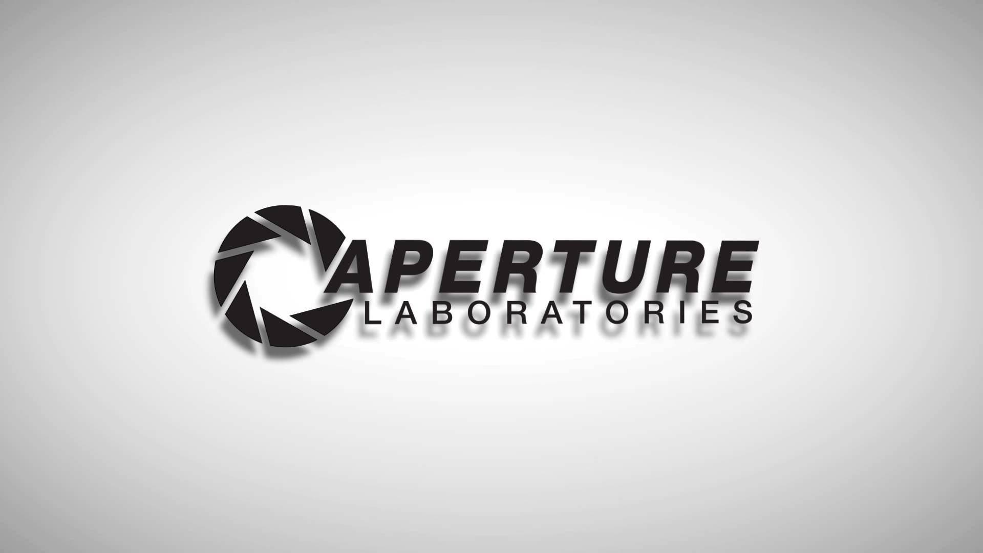 aperture science wallpaper 1366×768