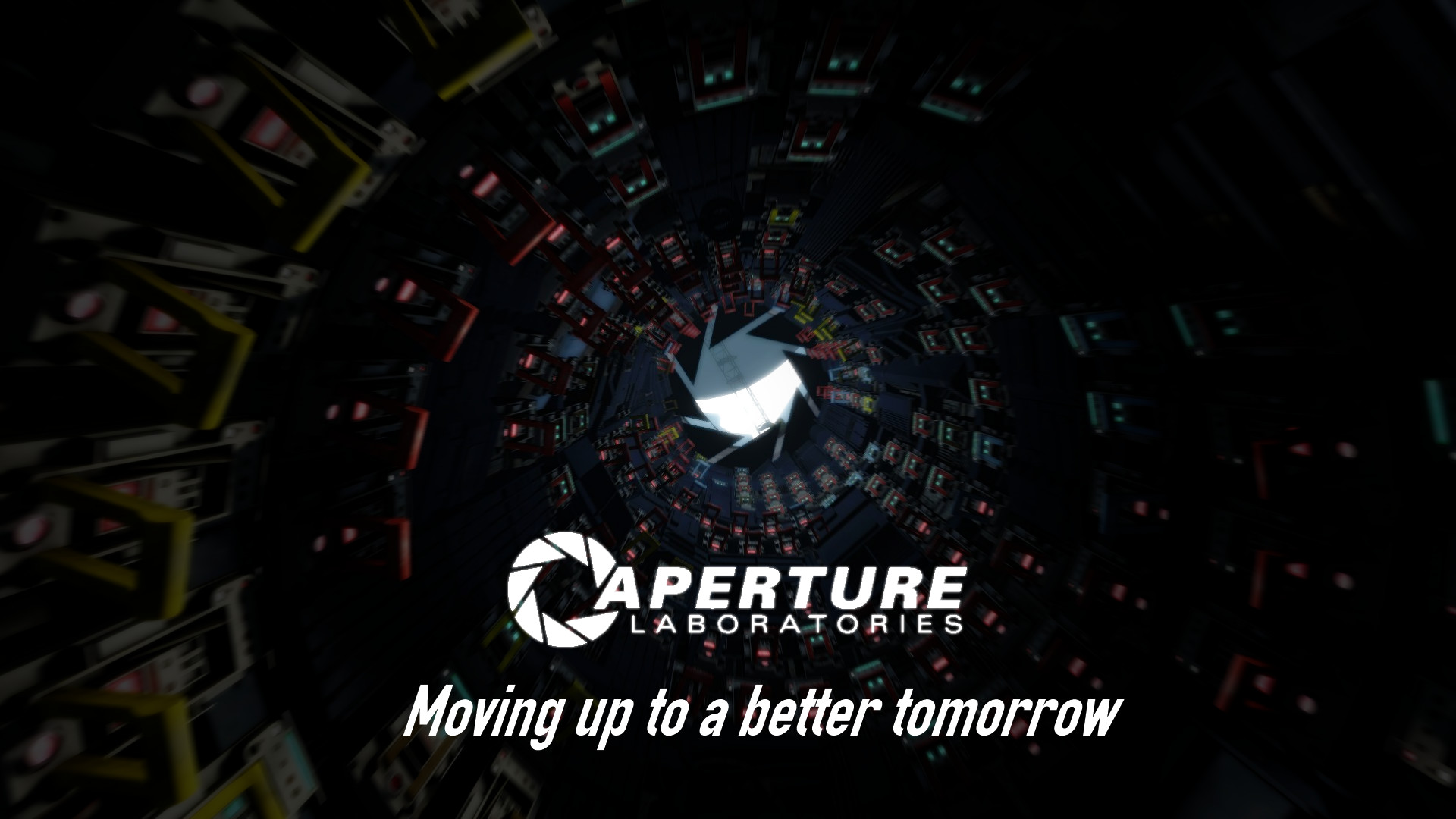 … Aperture Science: Moving up to a better tomorrow by p0rtalplayer