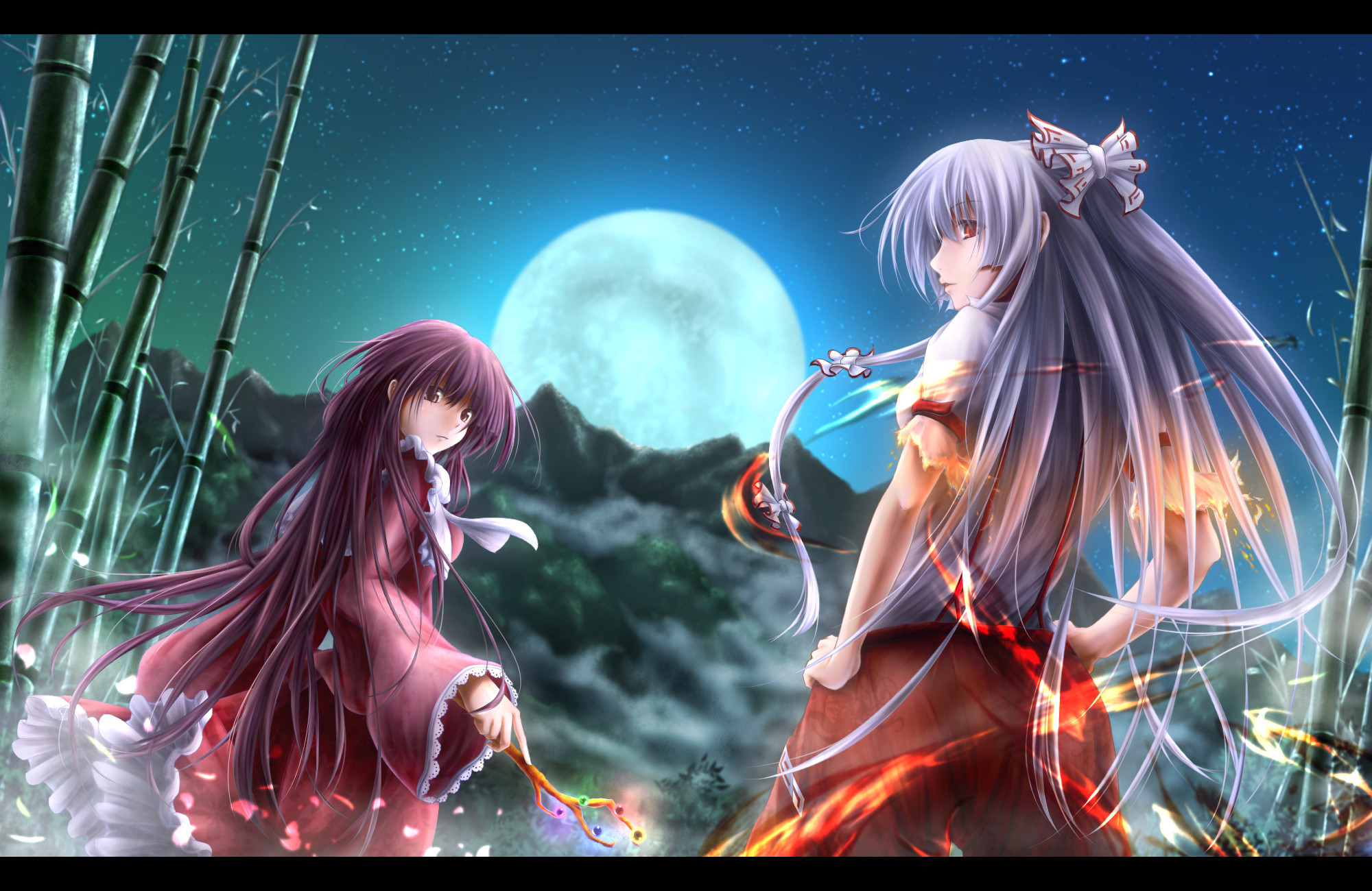 125 Touhou wallpapers; all are in good taste, most are epic. If you're  looking for lewd pictures keep hitting →