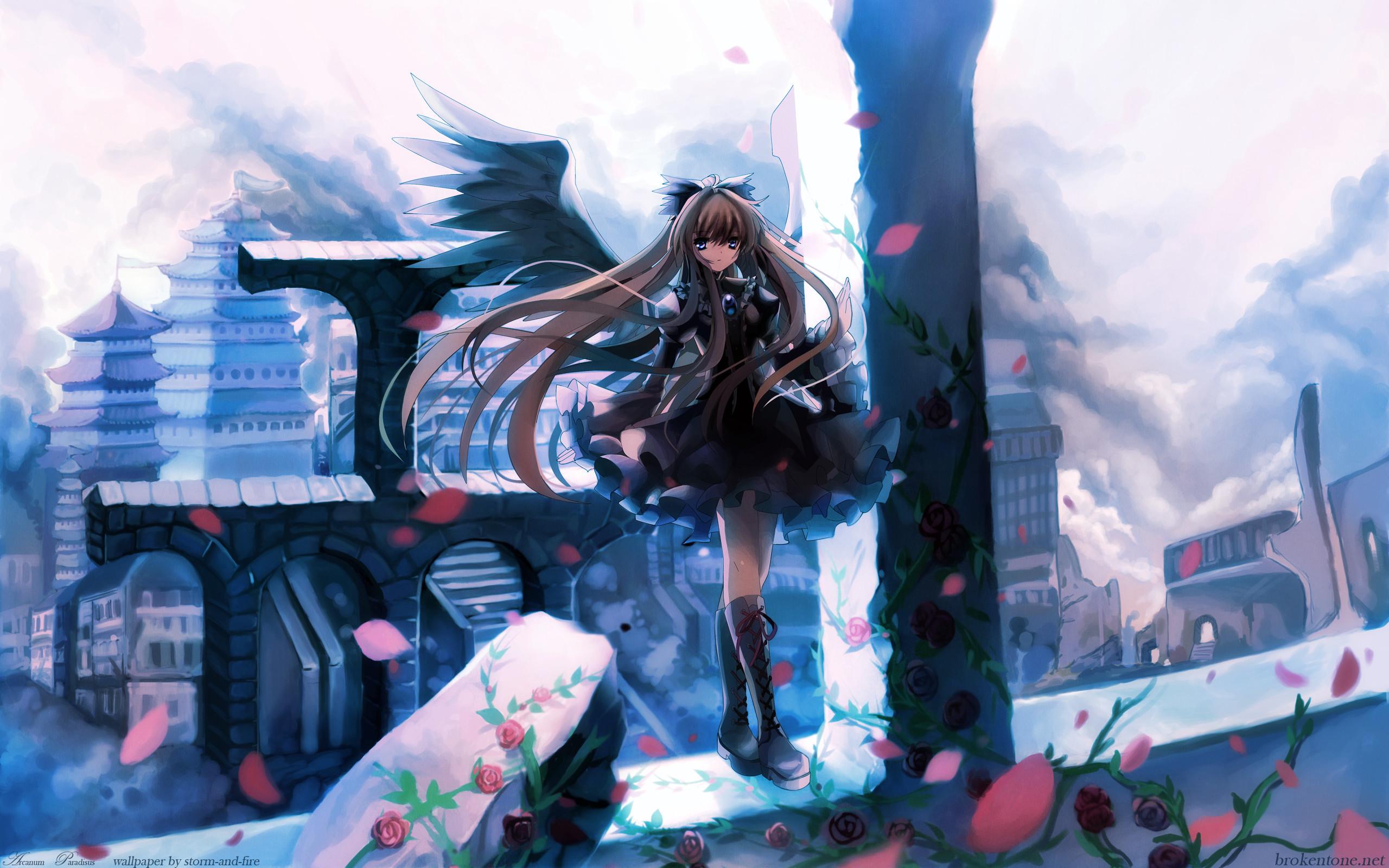 Touhou Wings Reiuji Utsuho wallpaper
