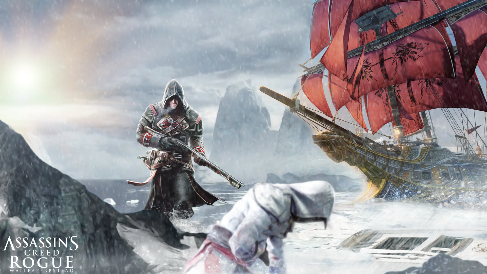 … Assassin's Creed Rogue wallpaper by teaD by santap555