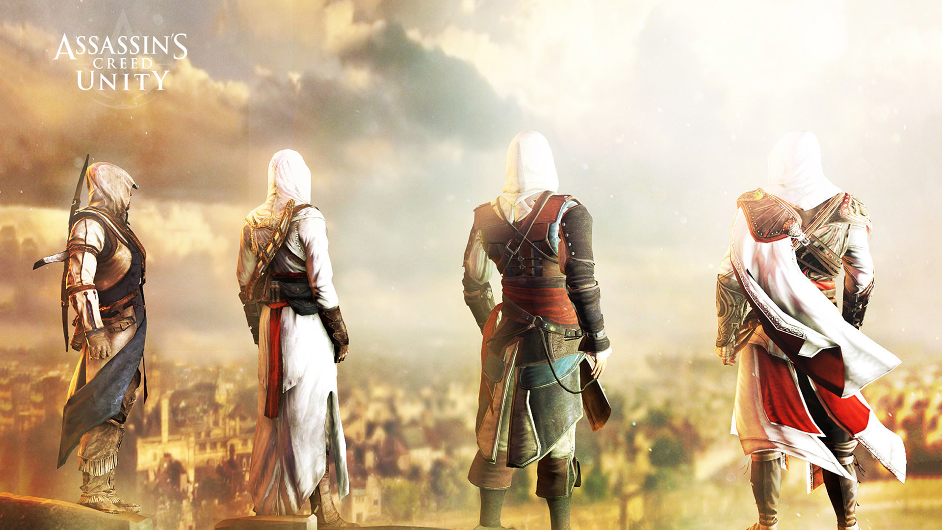 Free Assassin's Creed: Unity Wallpaper in 1920×1080