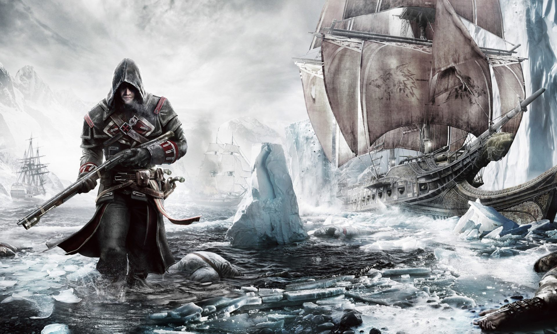 Download Assassin's Creed Rogue Shipwreck Wallpapers from Below Resolution.