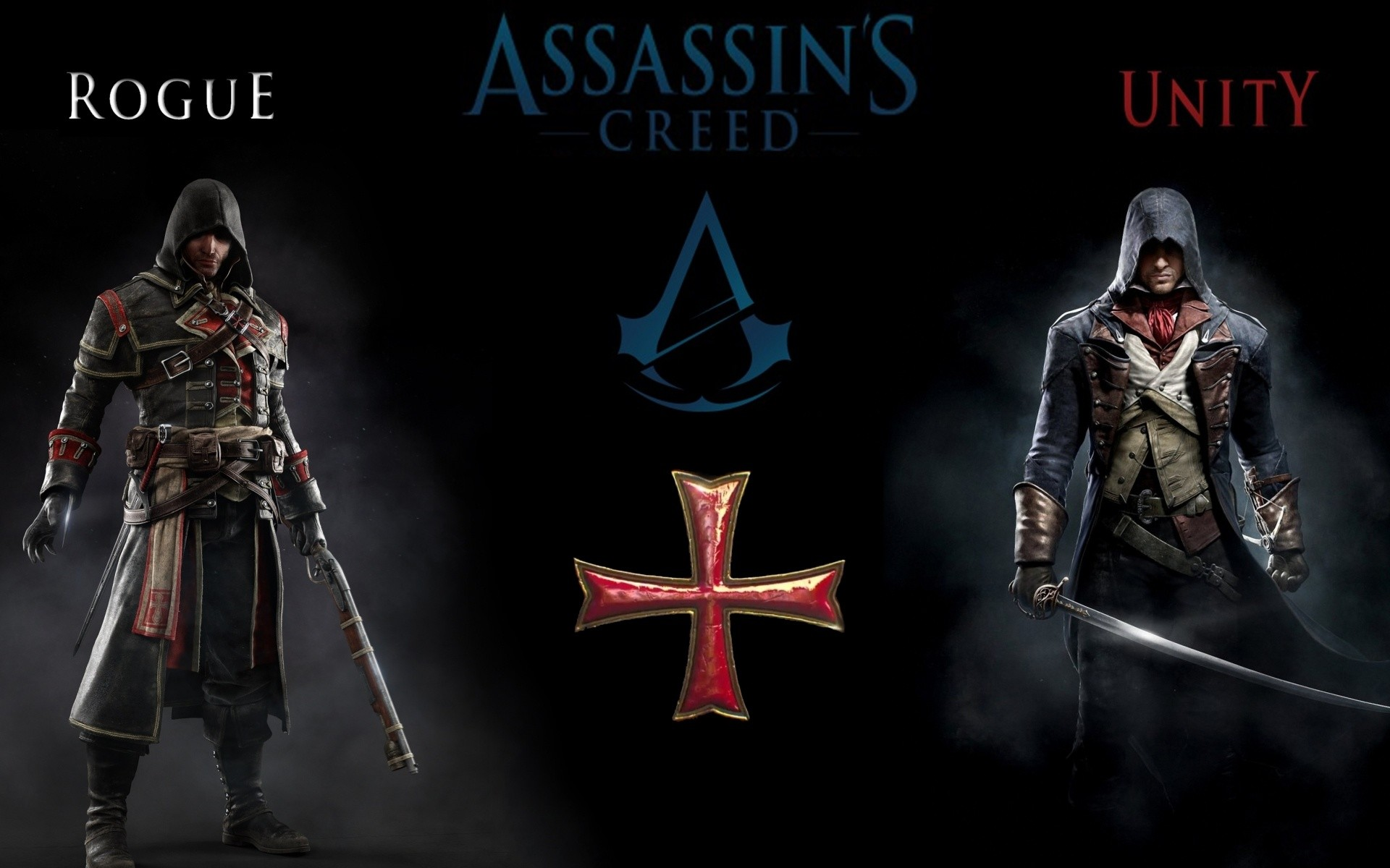 Wallpaper 1080p Assassin's Creed Unity Rogue Video Game HD.