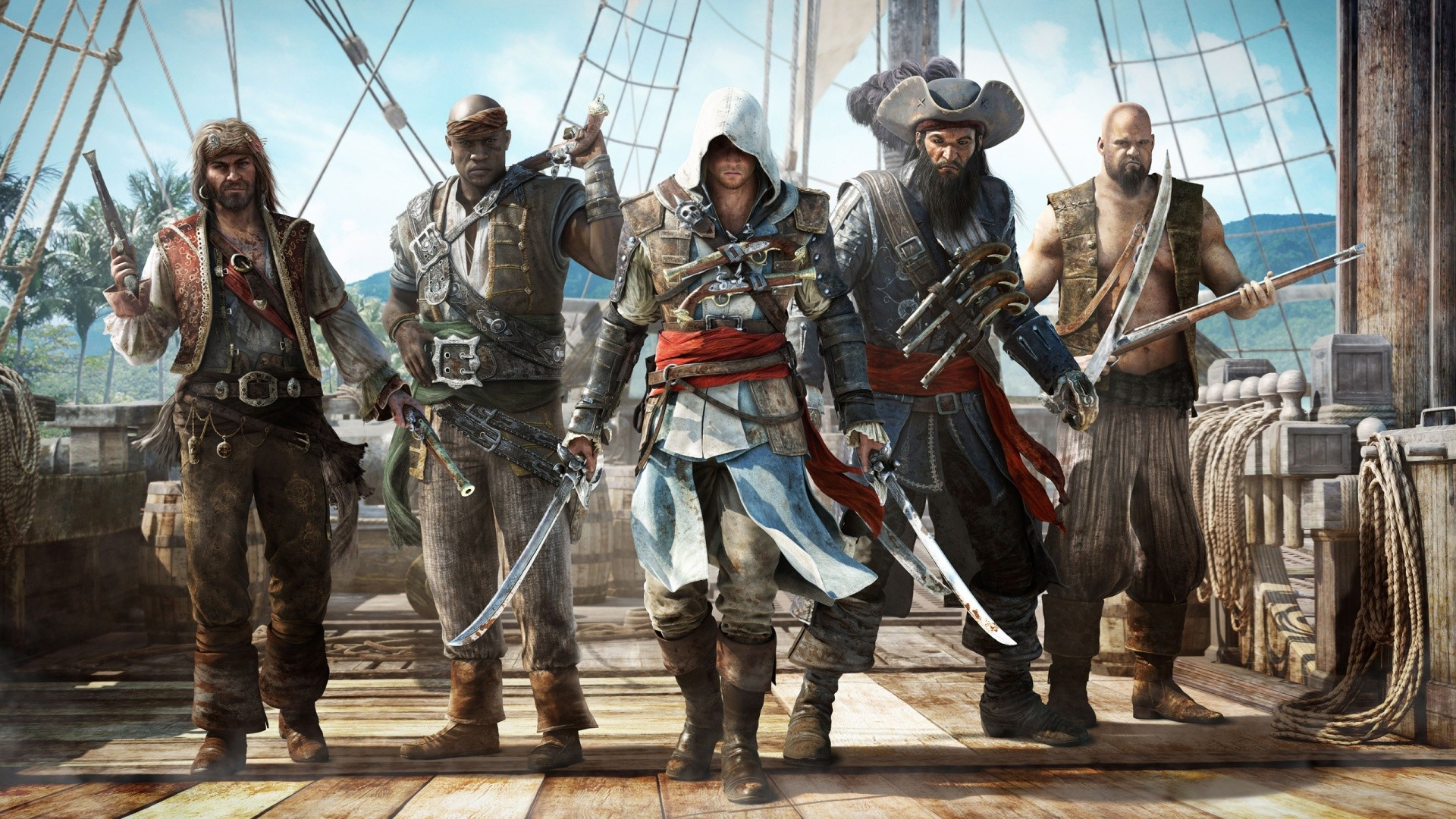 Assassin's Creed Black Flag Costume