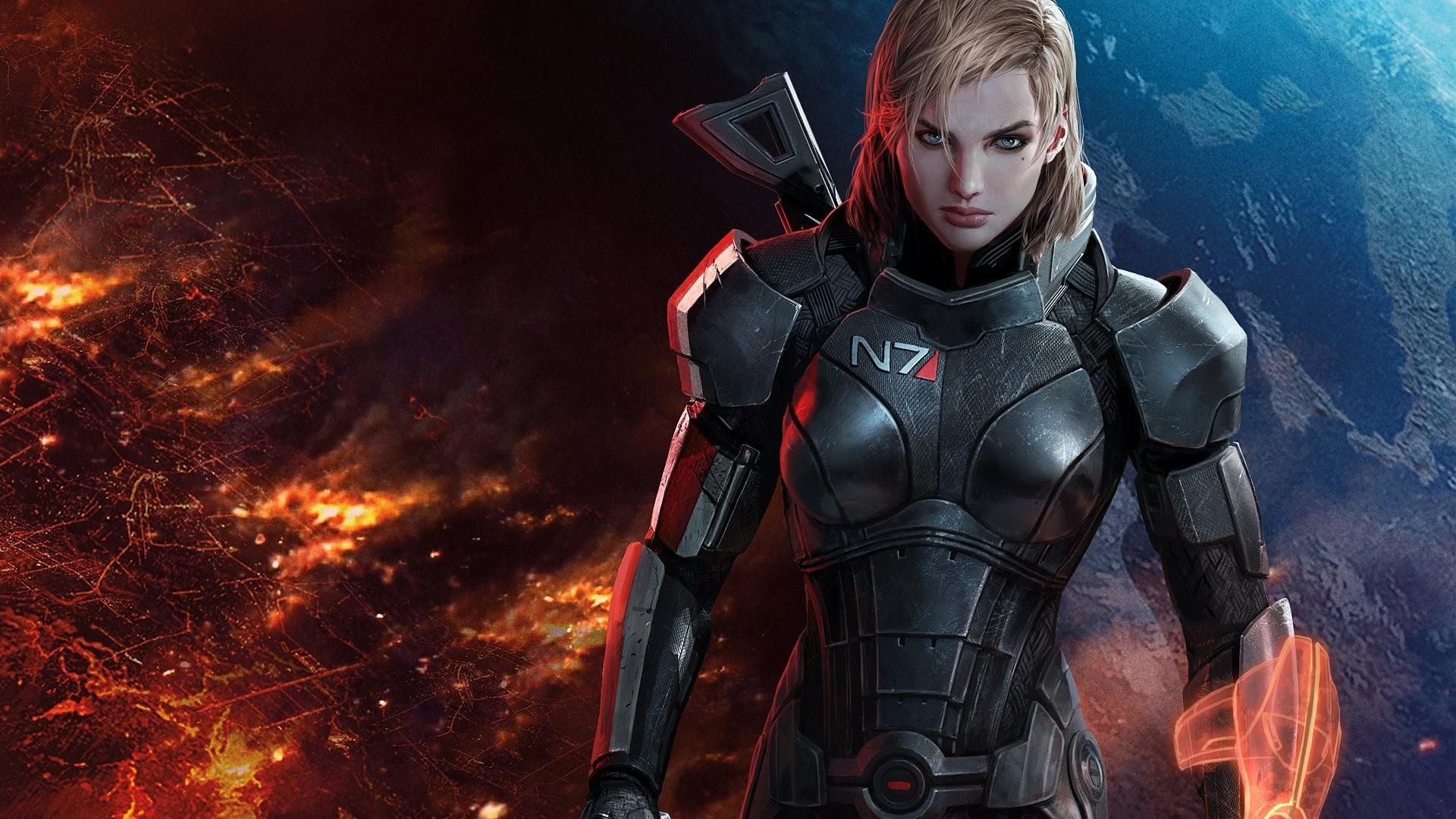 Mass Effect Wallpaper Mass, Effect, Mass, Effect, 3, FemShep