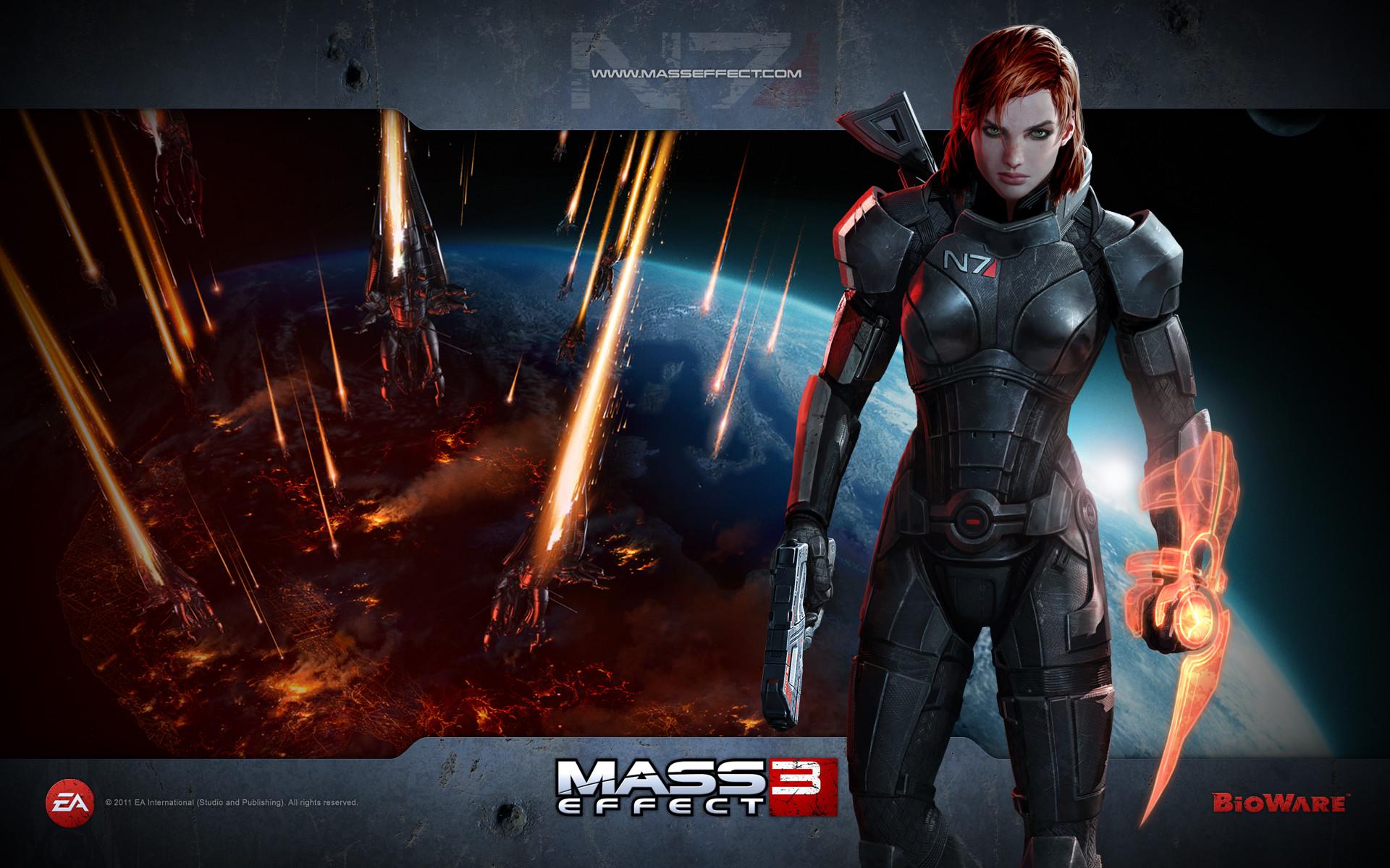 Mass Effect 3 Female Characters