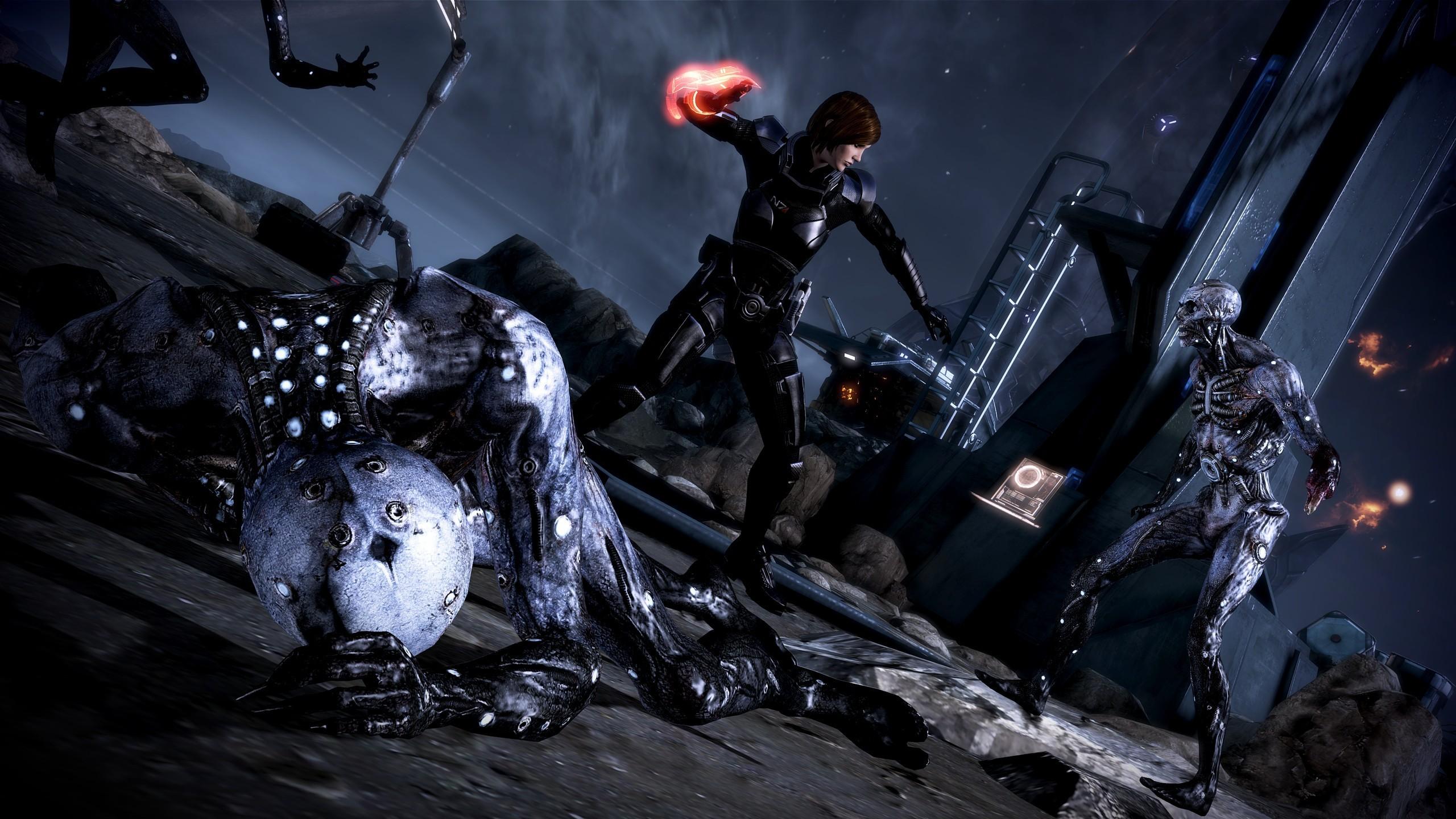 Video games mass effect 3 femshep commander shepard wallpaper