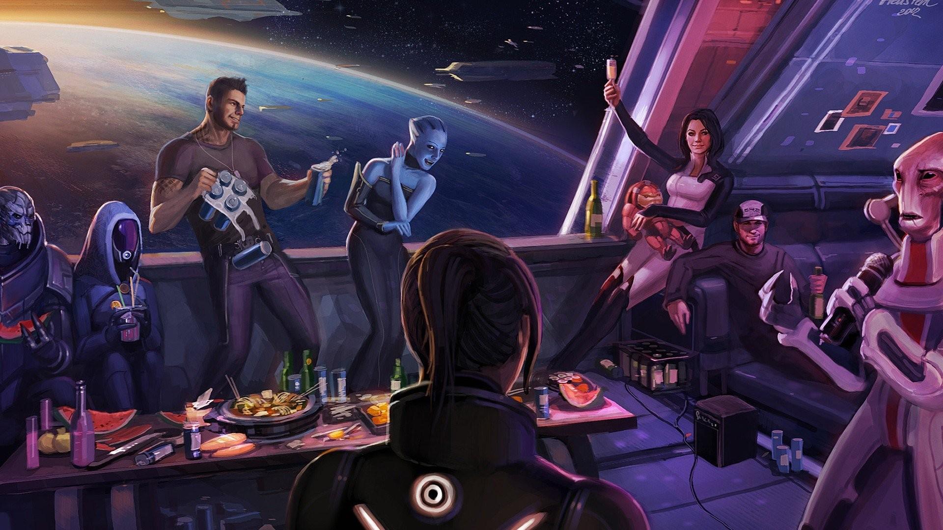 Women happy Mass Effect Mass Effect 3 FemShep Commander Shepard wallpaper |  | 299325 | WallpaperUP