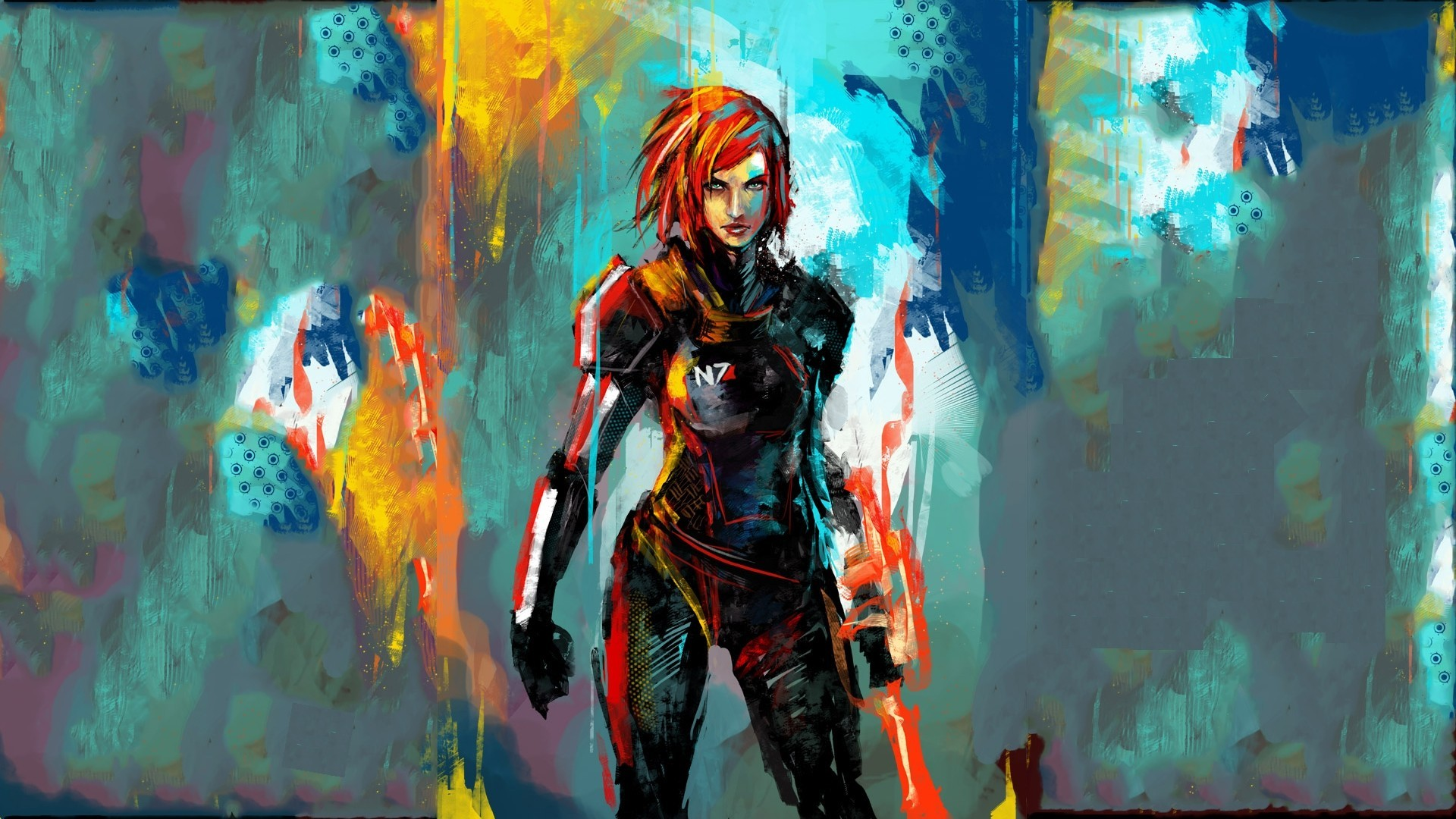 Mass Effect Wallpapers! So you can get hyped up for the new game even more!