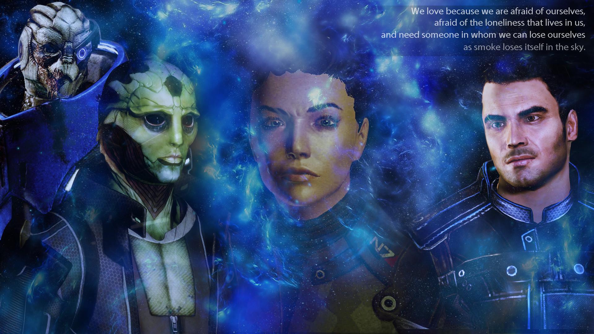 Mass Effect Femshep desktop by BlackjackKent Mass Effect Femshep desktop by  BlackjackKent