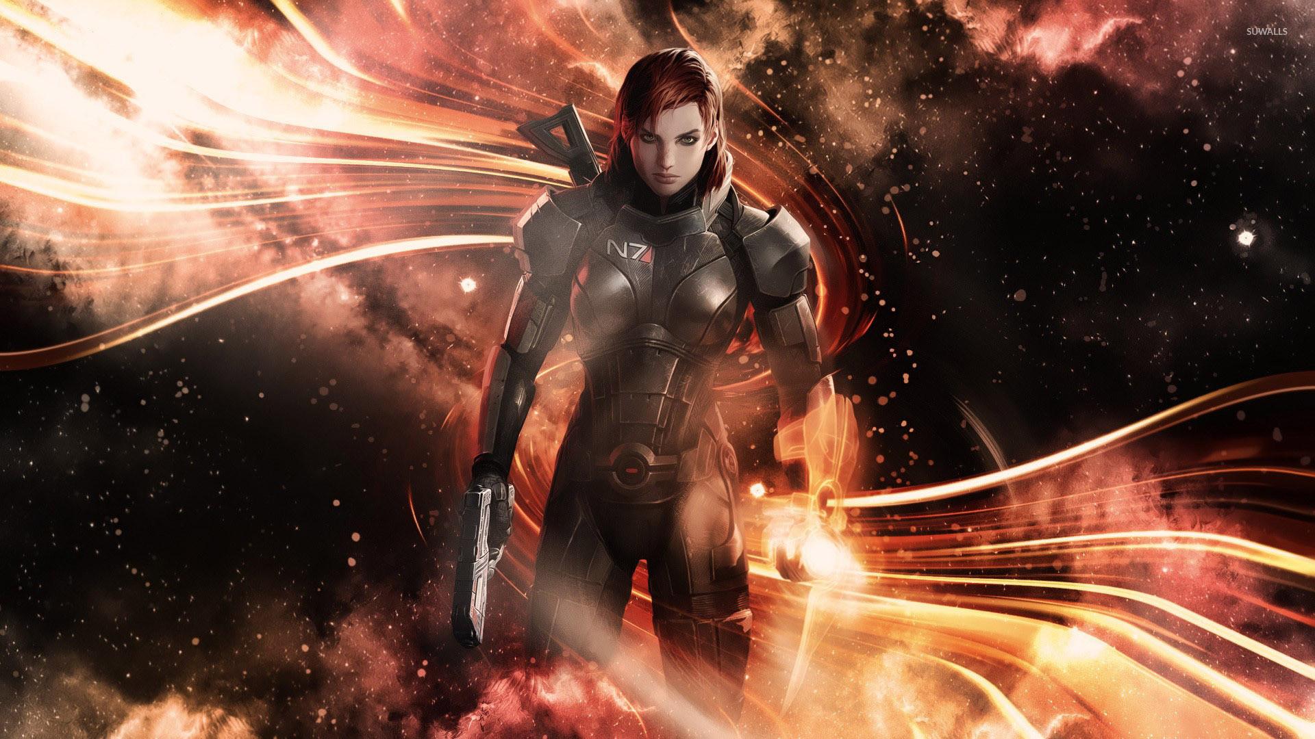 Commander Shepard – Mass Effect 3 [3] wallpaper