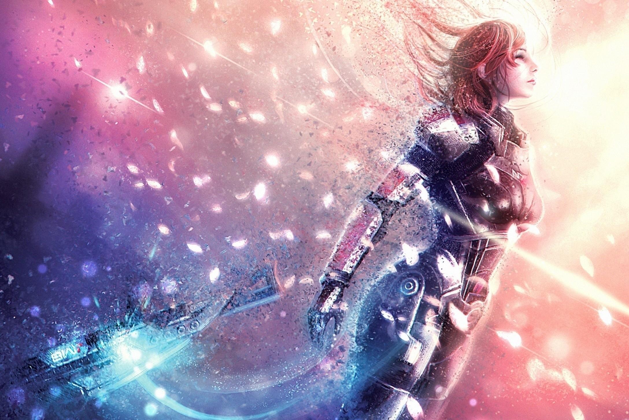 Mass effect artwork n7 mass effect 3 femshep commander shepard mass effect  3 ending Wallpaper