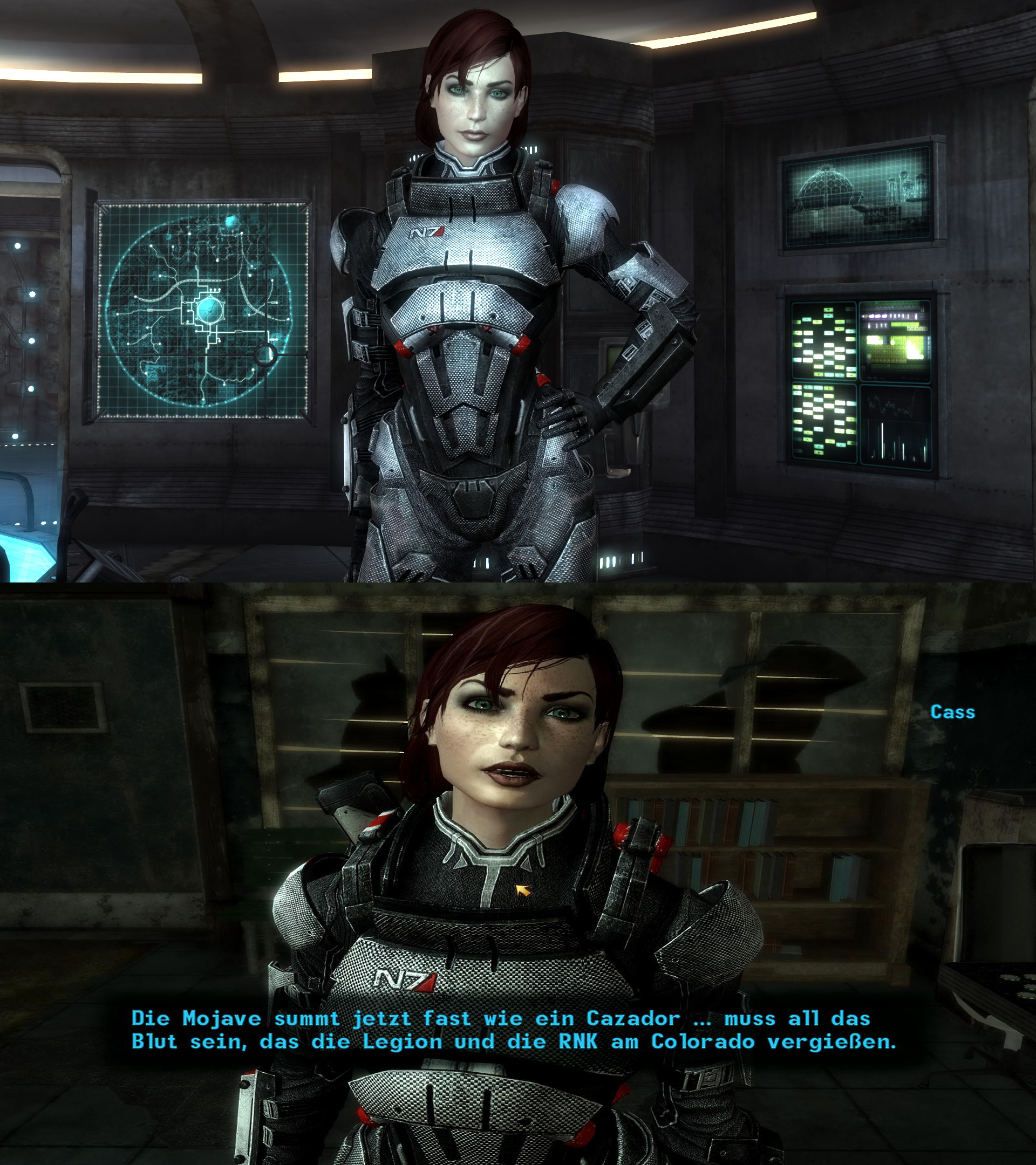 … Fallout New Vegas – FemShep Race by lsquall