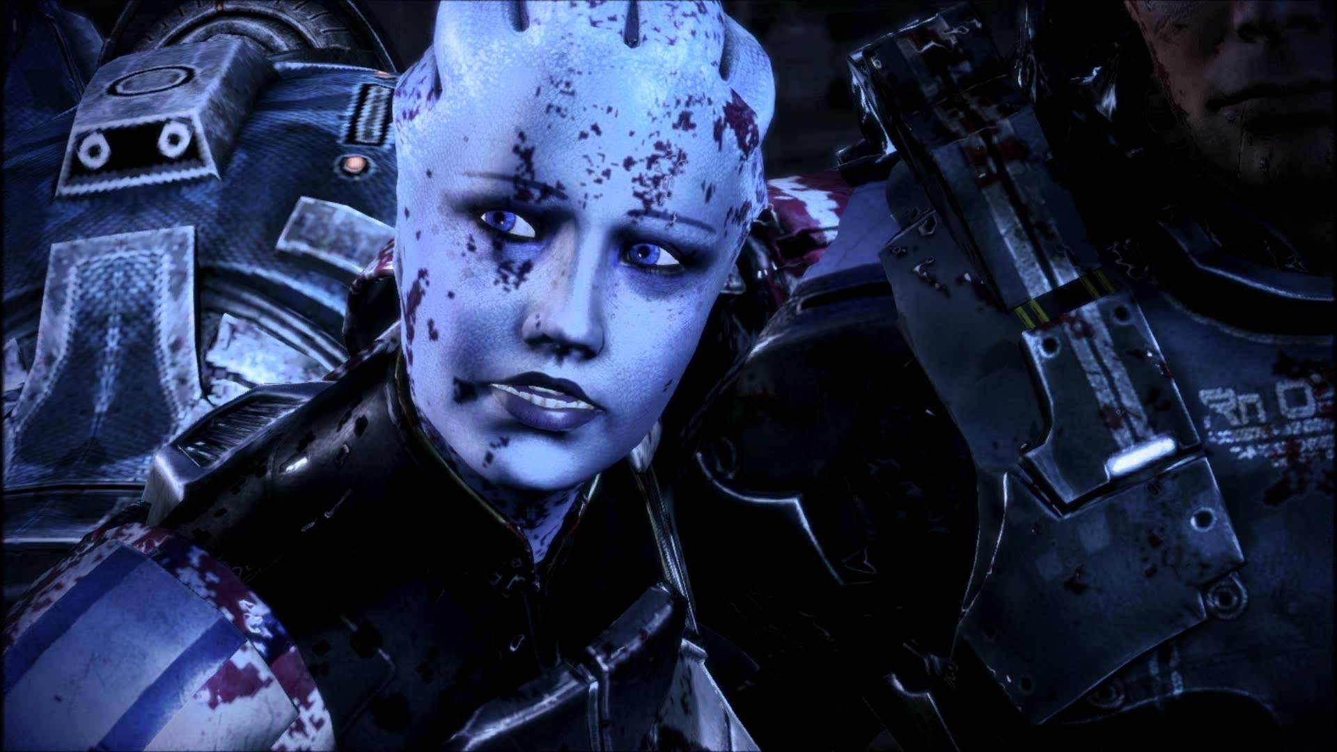Mass Effect 3 Extended Cut Liara + Femshep LI scene at beam (HD) – YouTube