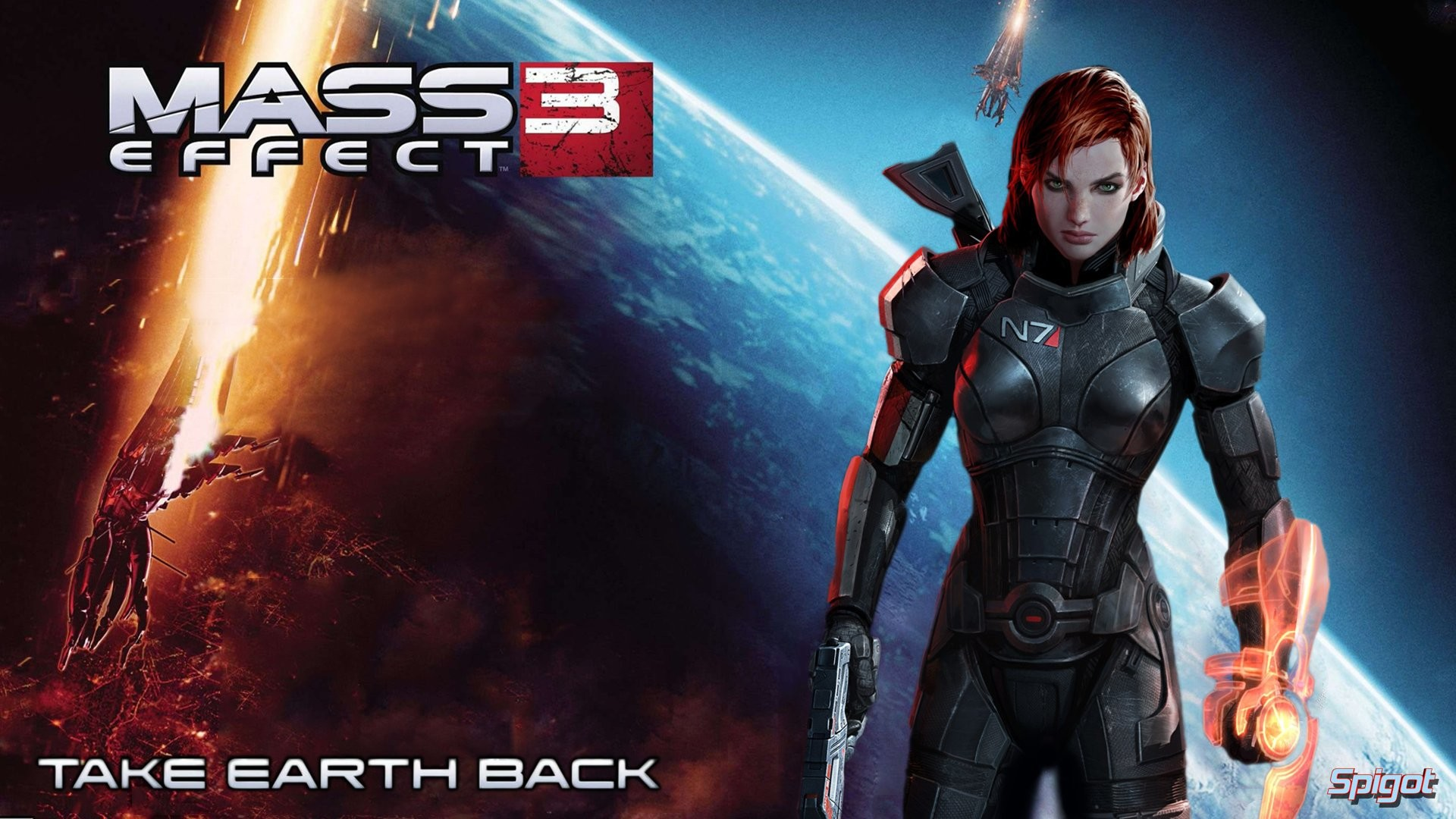 Mass Effect 3 Female Shepard 787709