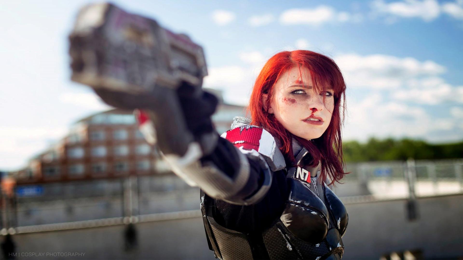 Mass Effect Best Femshep Cosplay
