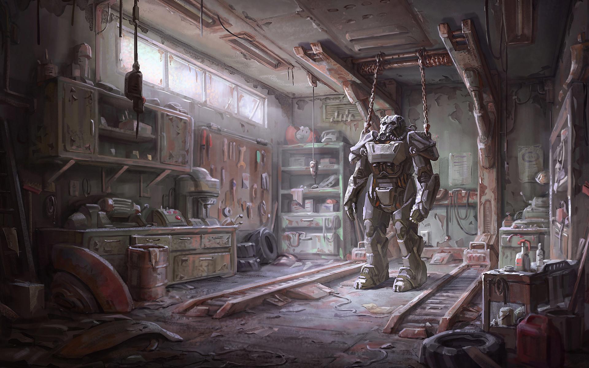 Fallout 4 Armour 4K Dual Screen Wallpaper – HD Wallpapers