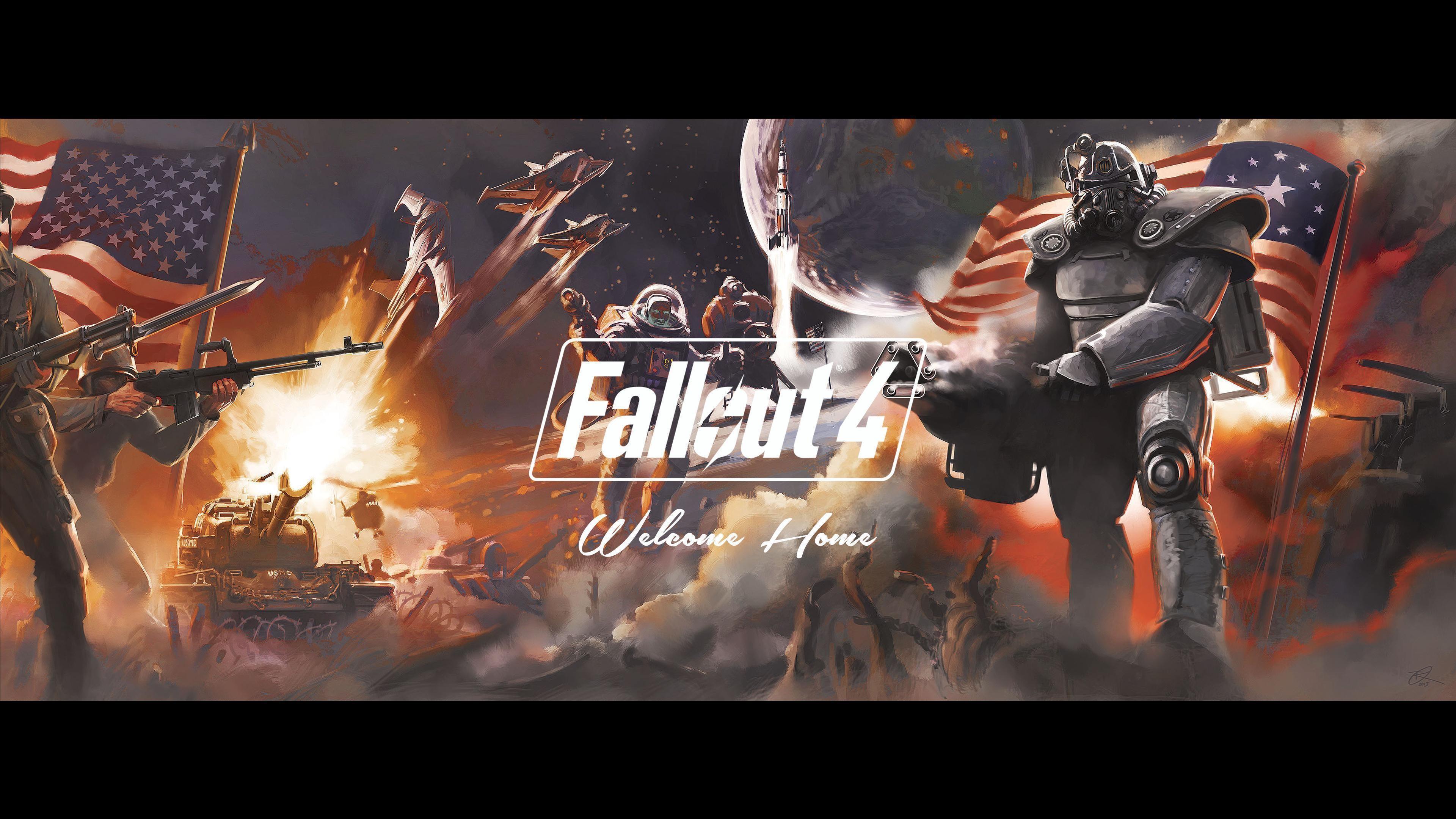 Fallout 4 Dual Monitor Wallpaper – WallpaperSafari